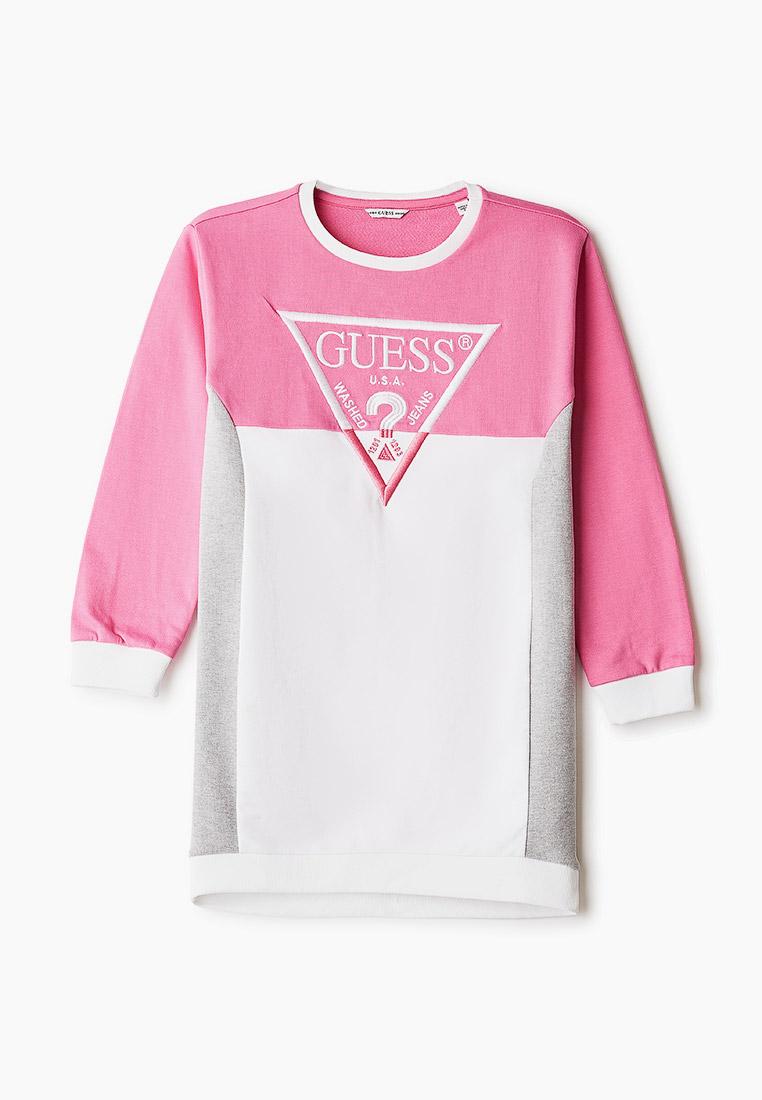 Повседневное платье Guess (Гесс) J1RK00 KA6R0