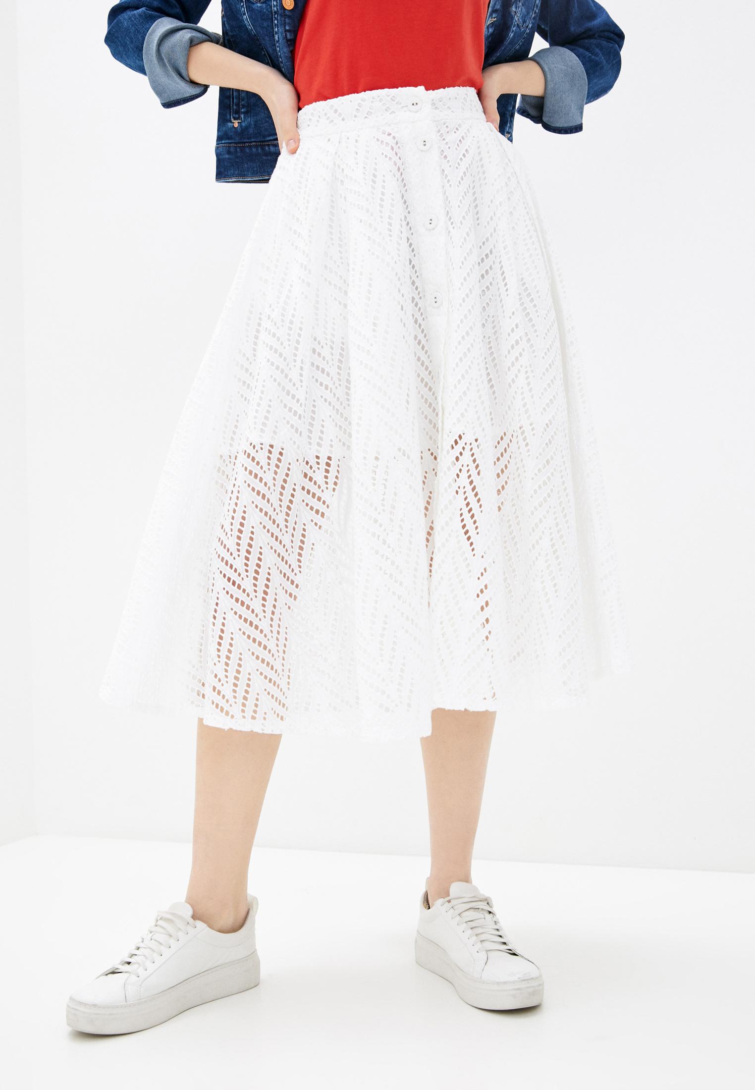 Широкая юбка Guess Jeans W1GD0W WDVA1