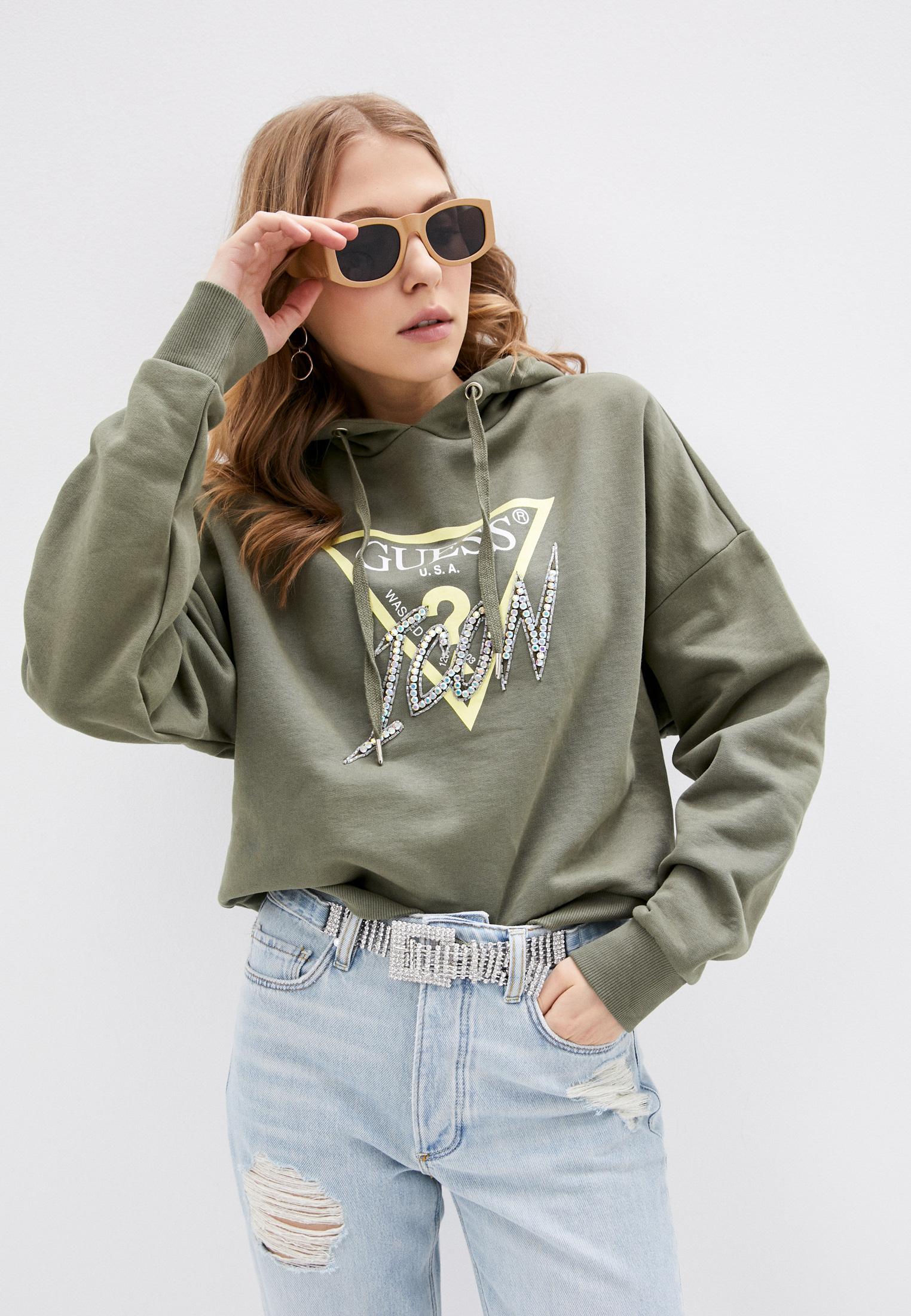 Женские худи Guess Jeans W1RQ05 K68I0