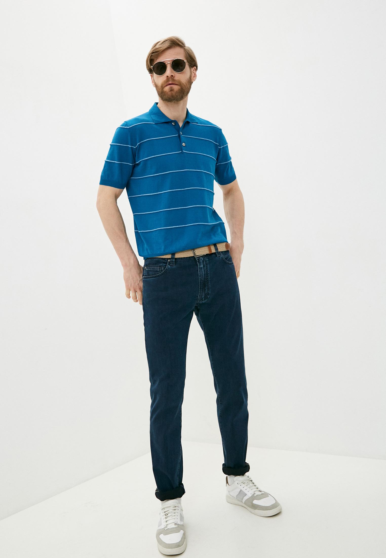 Зауженные джинсы Cortigiani 113530: изображение 3