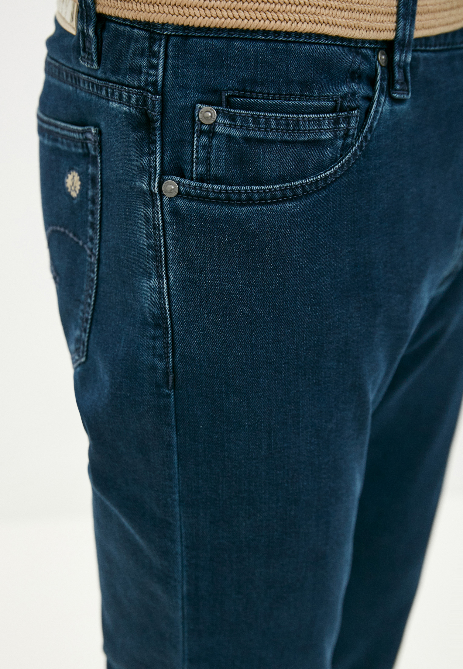 Зауженные джинсы Cortigiani 113530: изображение 5