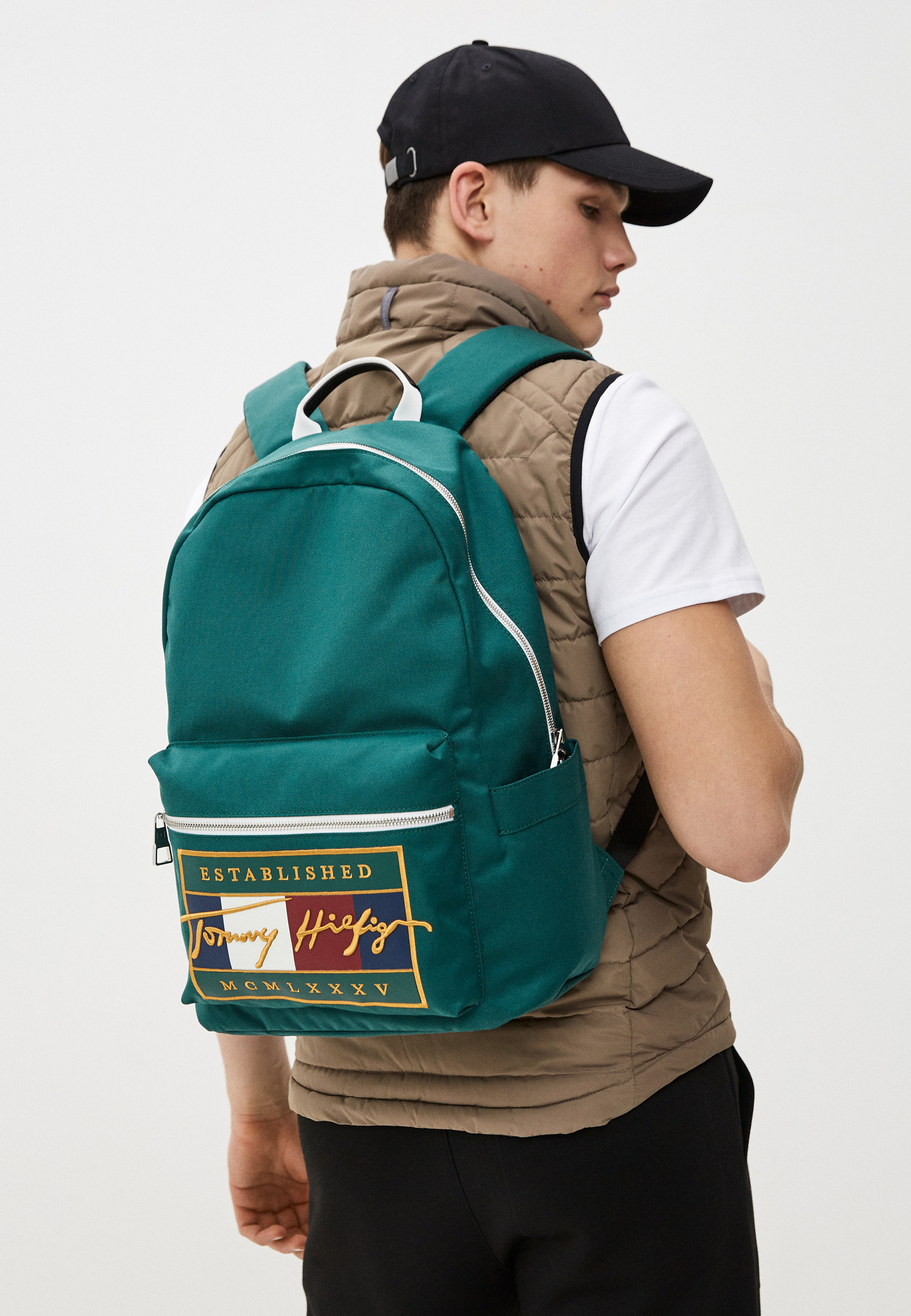 Городской рюкзак Tommy Hilfiger (Томми Хилфигер) AM0AM07377: изображение 4