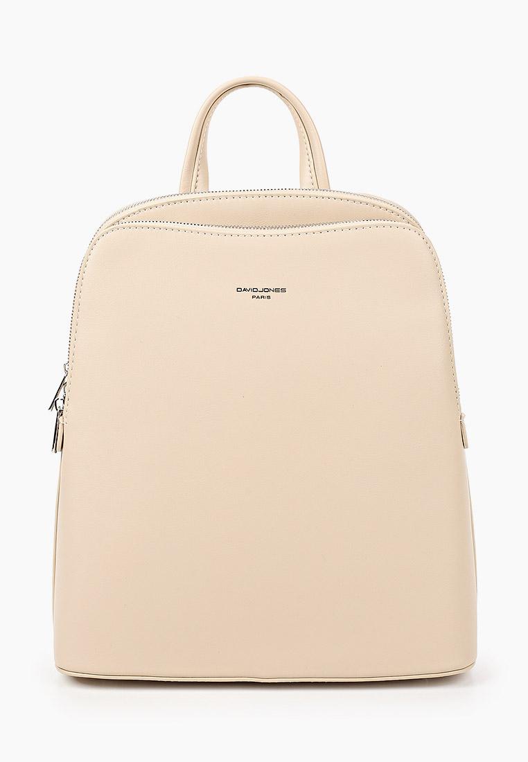 Городской рюкзак David Jones (Дэвид Джонс) 6502-2_бежевый