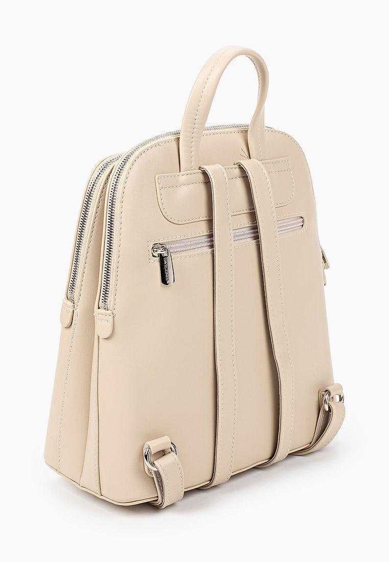 Городской рюкзак David Jones (Дэвид Джонс) 6502-2_бежевый: изображение 2