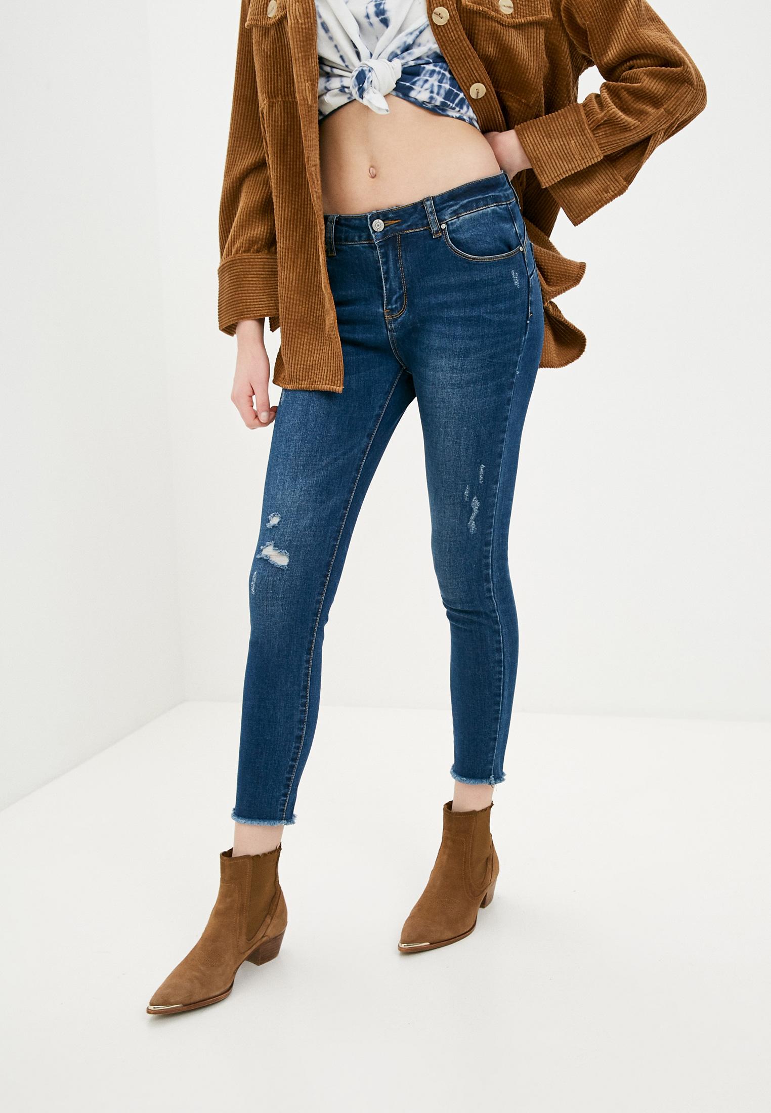 Зауженные джинсы G&G B014-A051