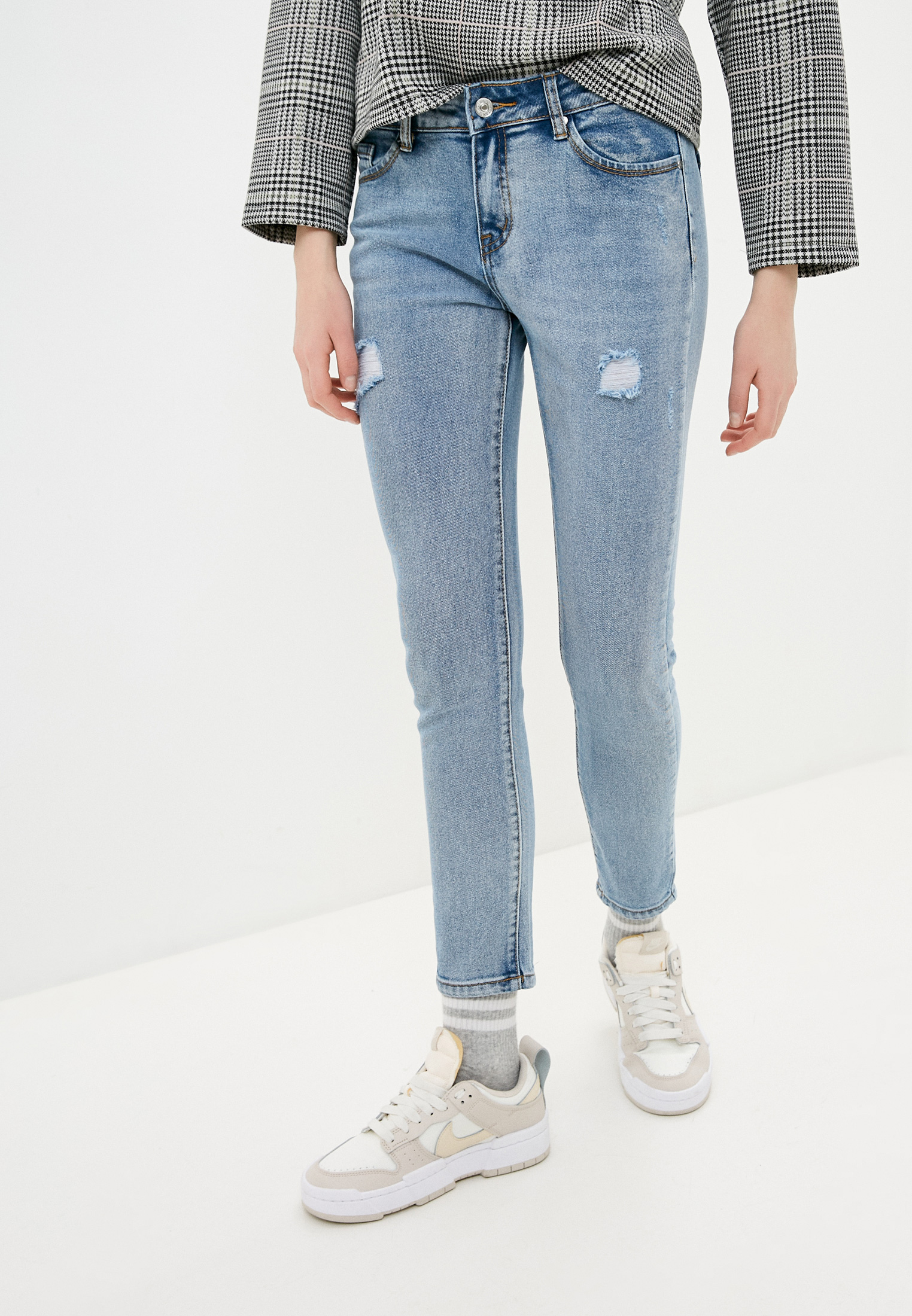 Зауженные джинсы G&G B014-A170