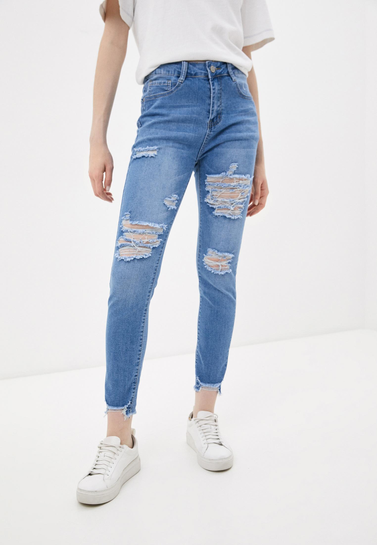 Зауженные джинсы G&G B014-K161B