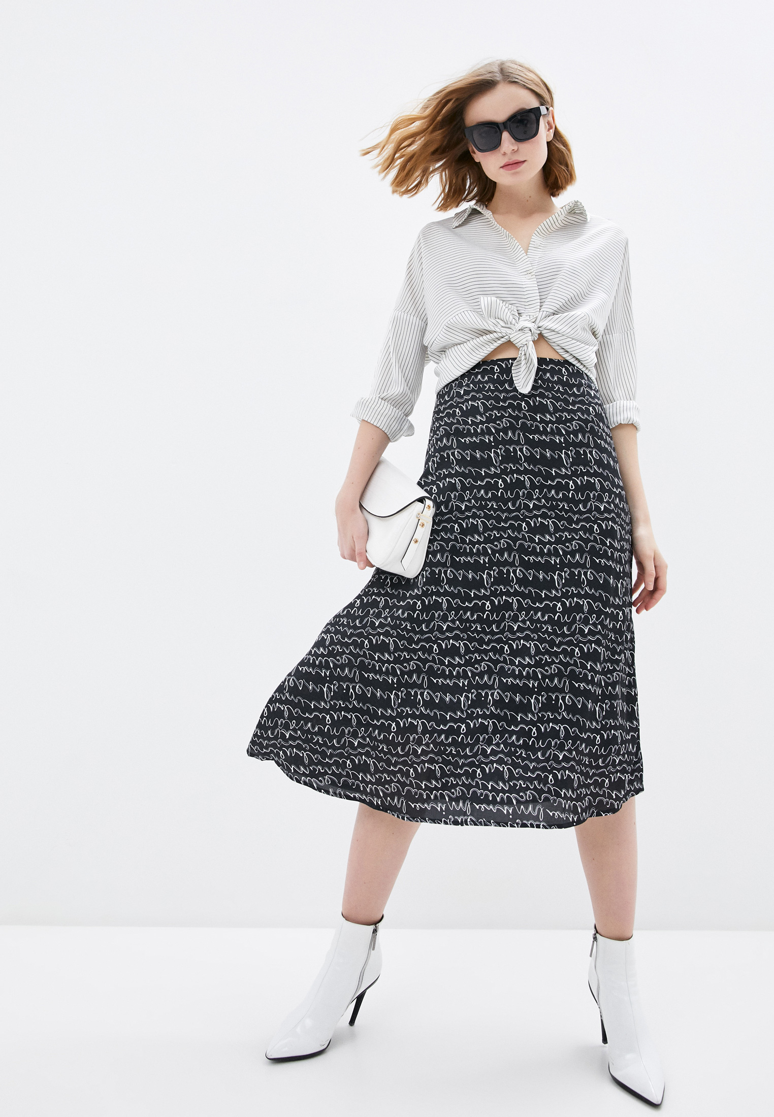 Широкая юбка B.Style NR12-4110: изображение 6