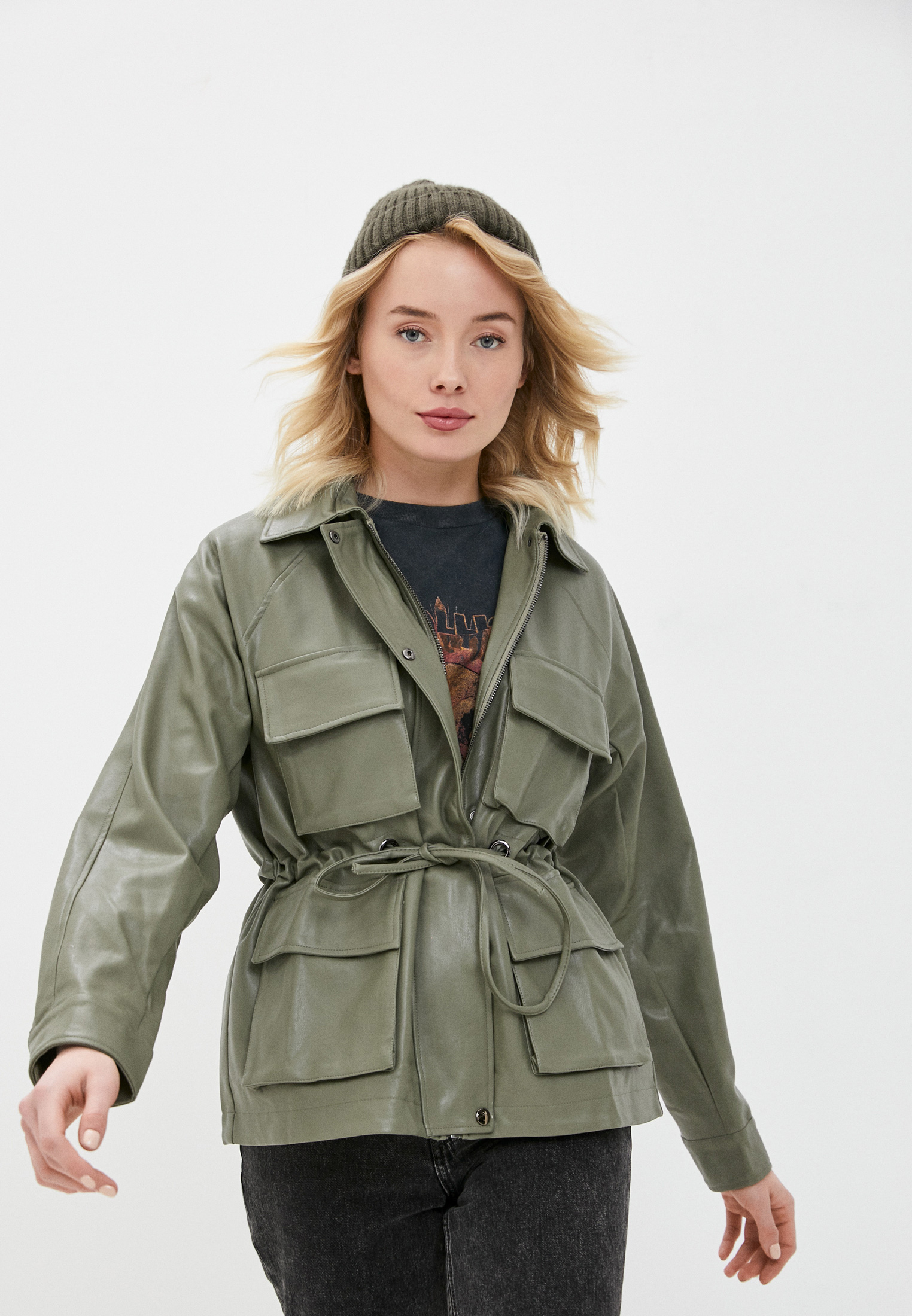 Кожаная куртка B.Style NR12-4345
