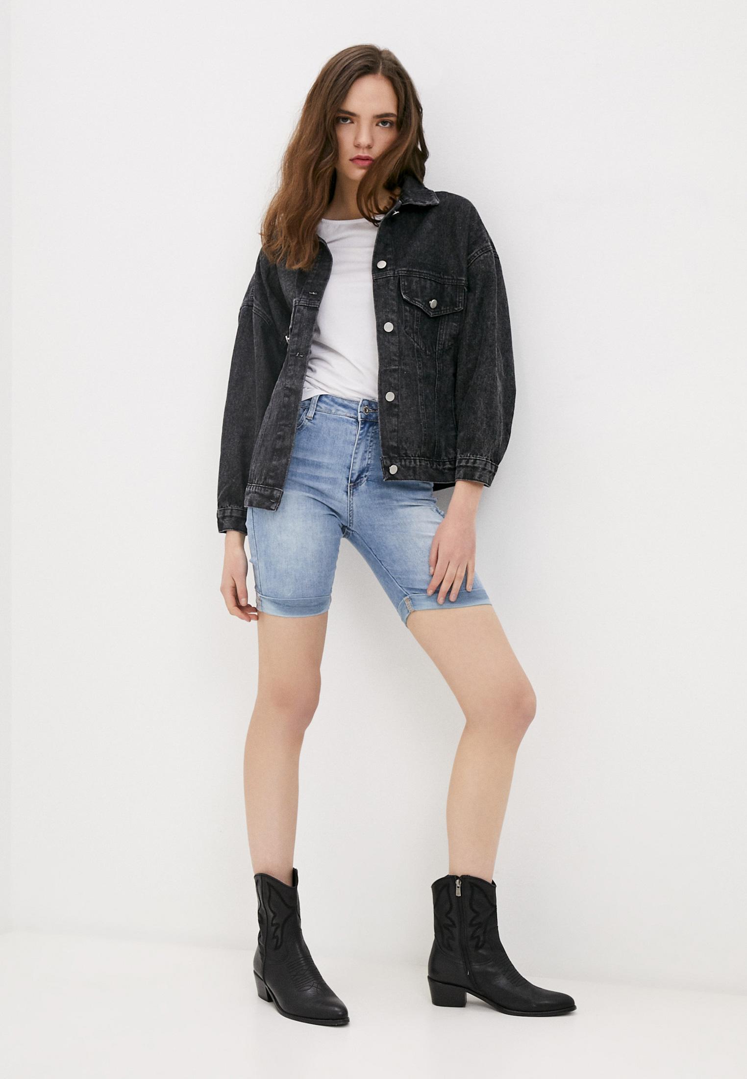 Женские джинсовые шорты B.Style NR12-FL1651: изображение 2