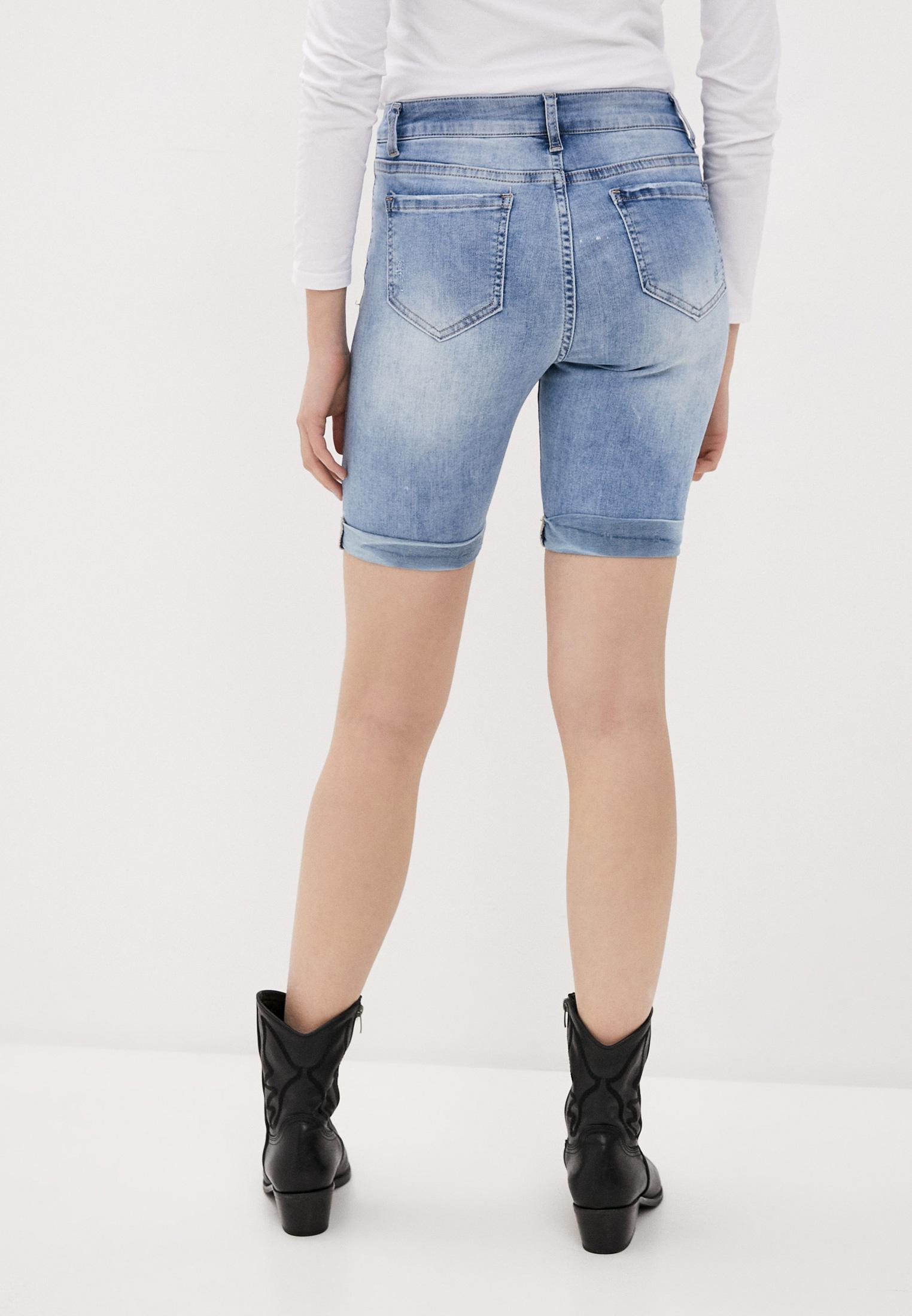 Женские джинсовые шорты B.Style NR12-FL1651: изображение 3
