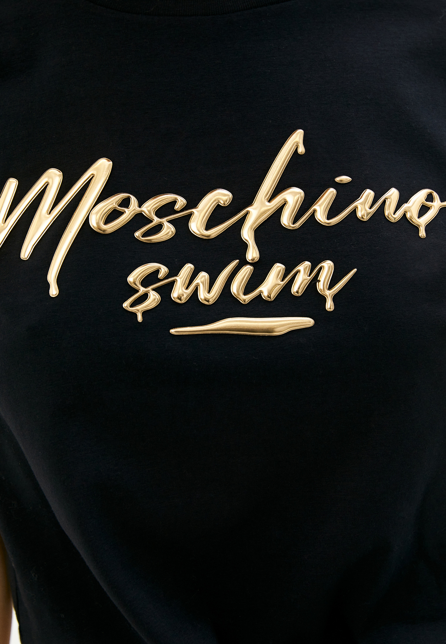 Футболка с коротким рукавом Moschino swim 1910 2125: изображение 5