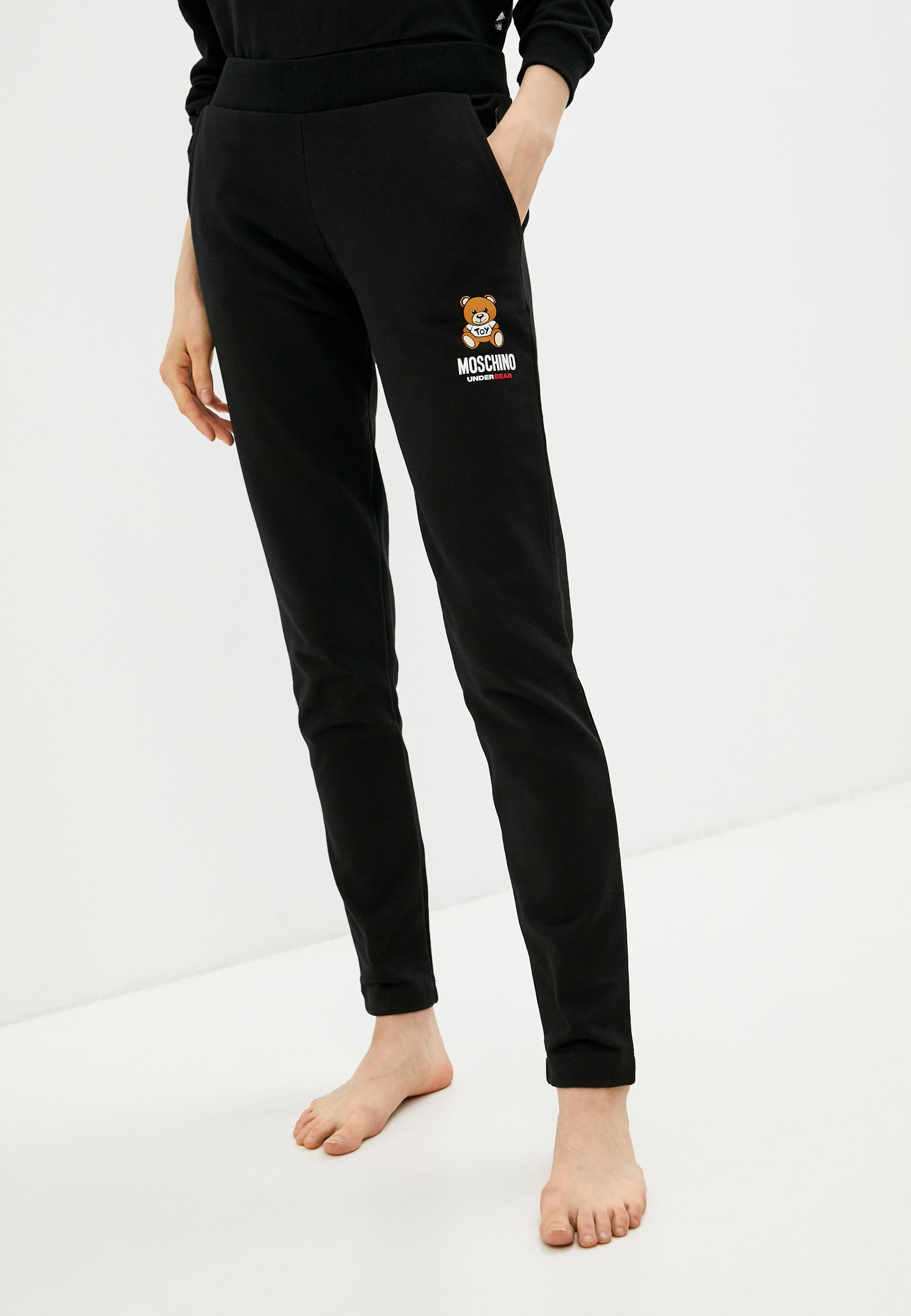 Женские спортивные брюки Moschino Underwear 4329 9020