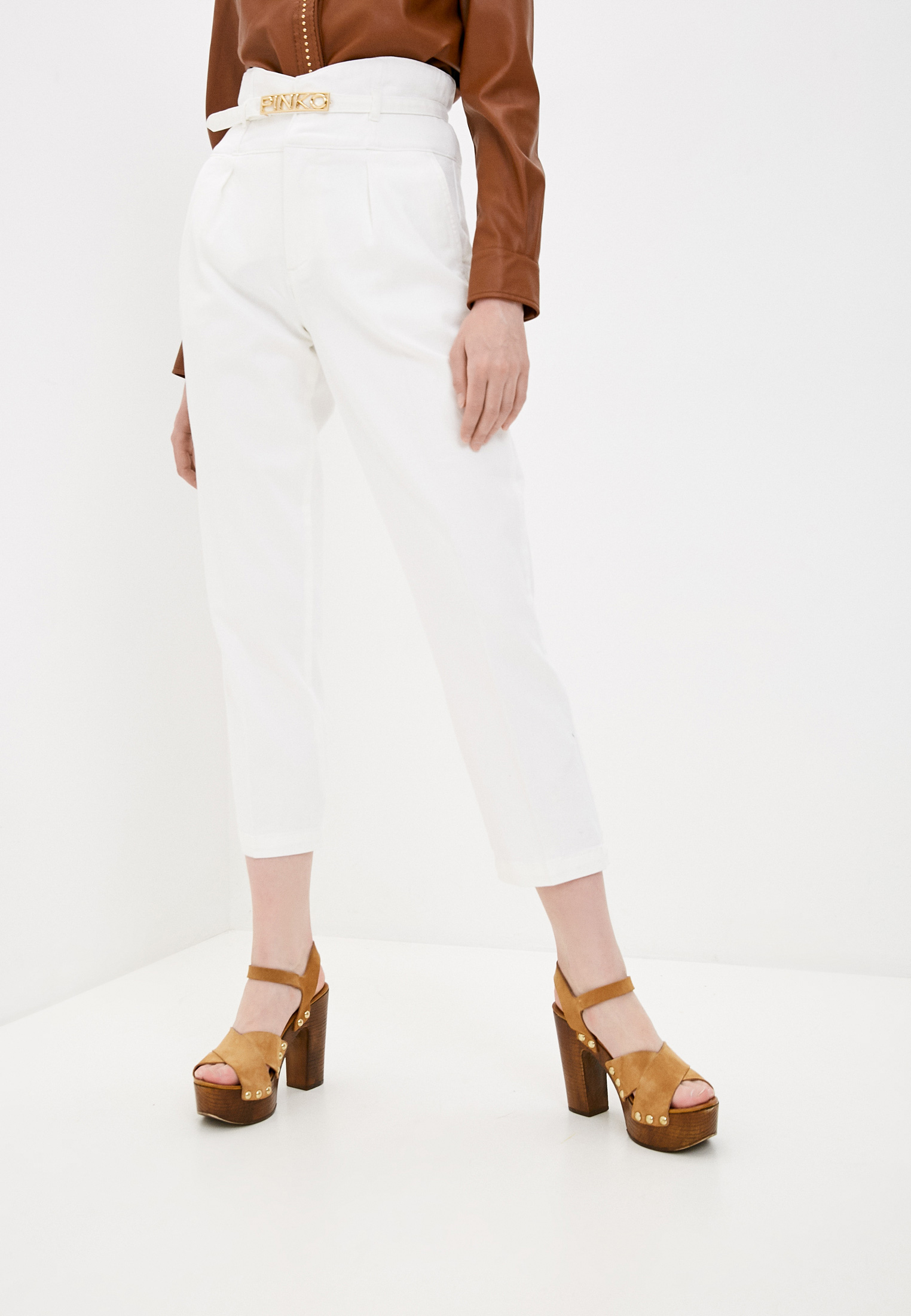 Широкие и расклешенные джинсы Pinko (Пинко) 1J10LTY64A