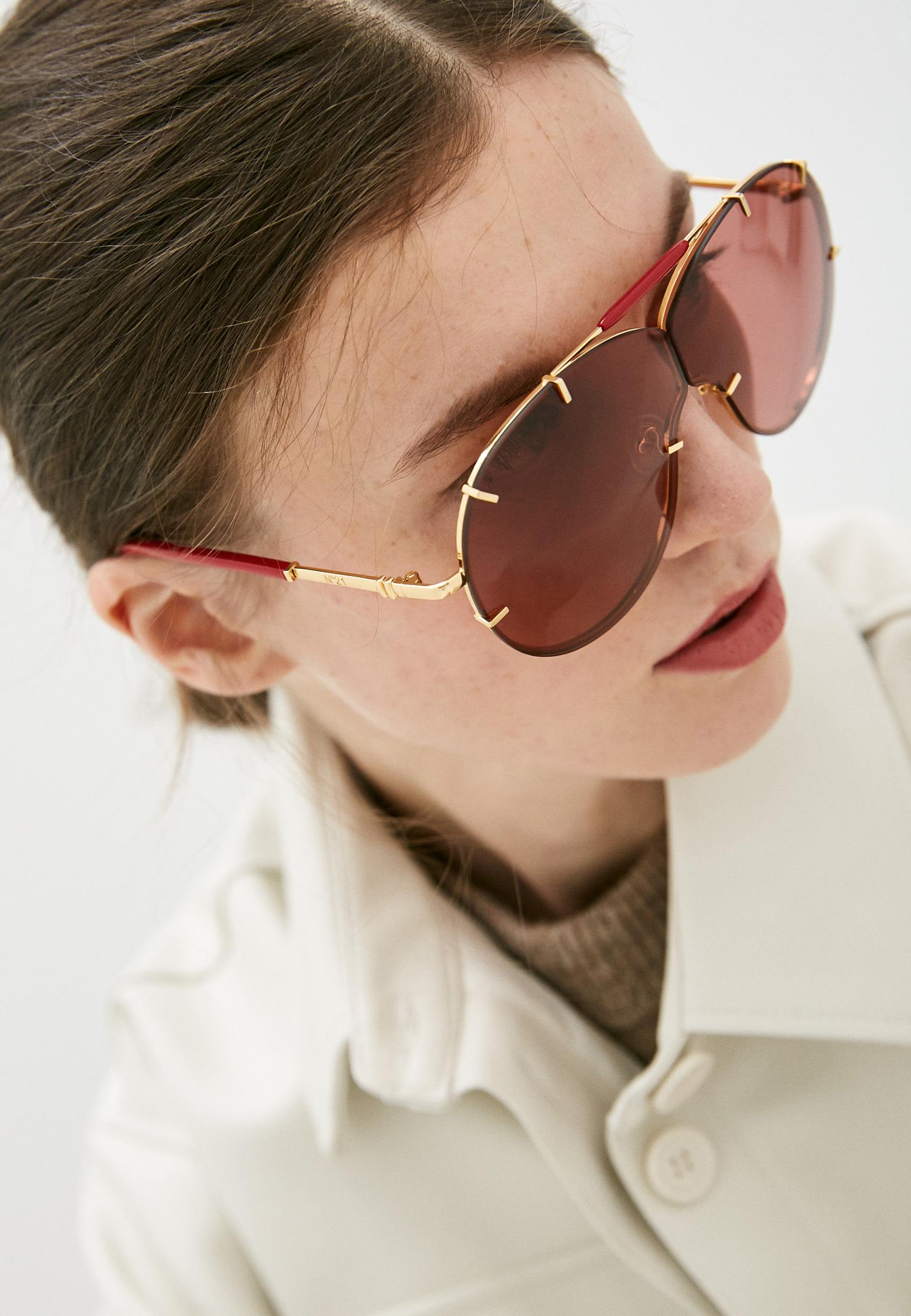 Женские солнцезащитные очки Linda Farrow Очки солнцезащитные Linda Farrow