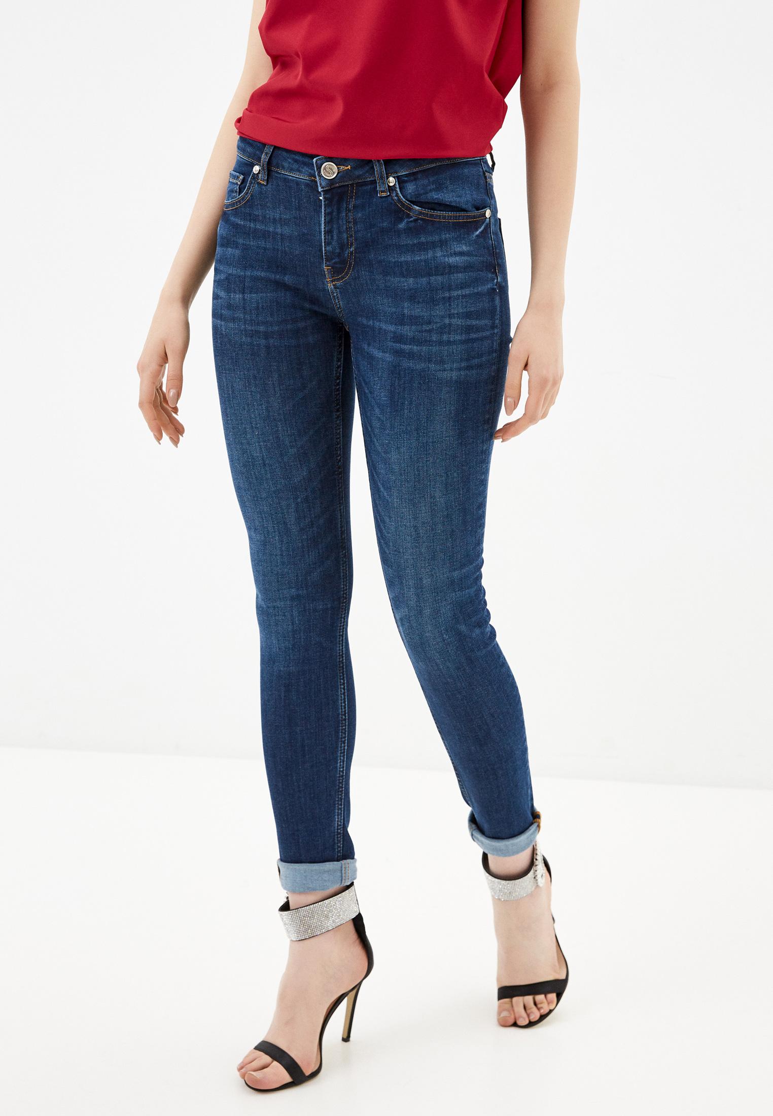 Зауженные джинсы Silvian Heach PGP20639JE