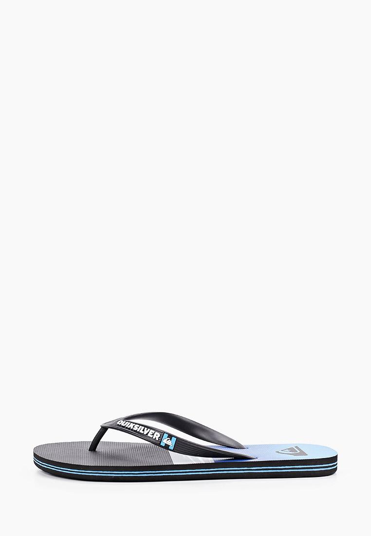 Мужская резиновая обувь Quiksilver (Квиксильвер) Сланцы Quiksilver