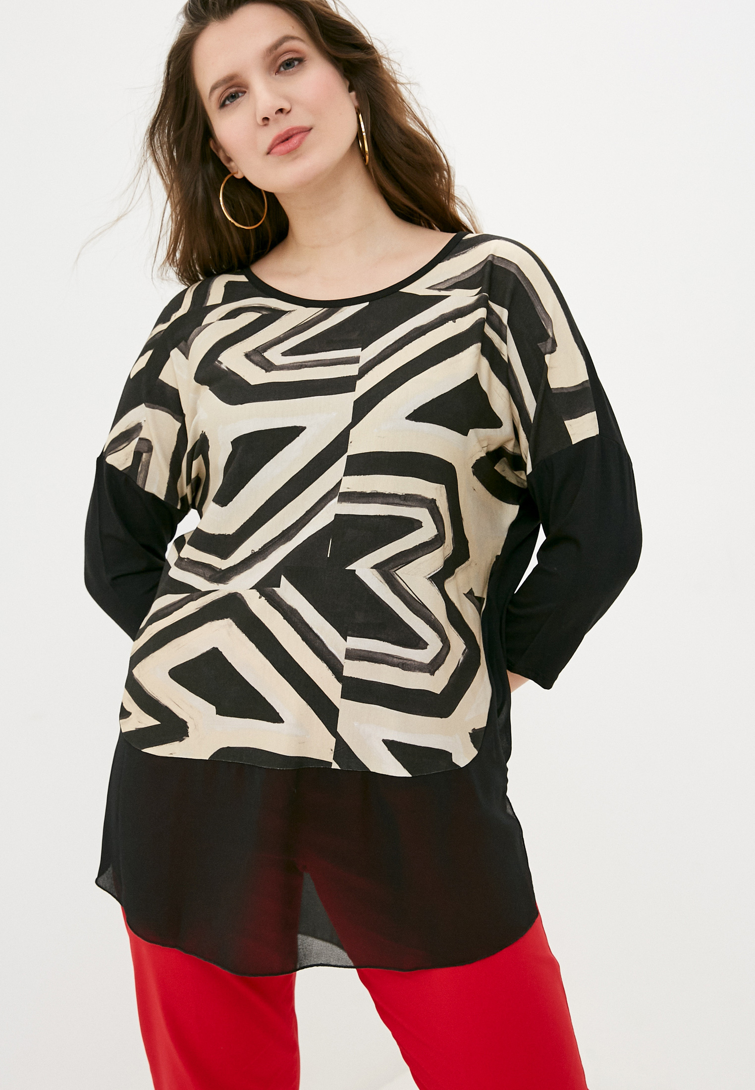 Блуза Sophia PRI20070UNIC