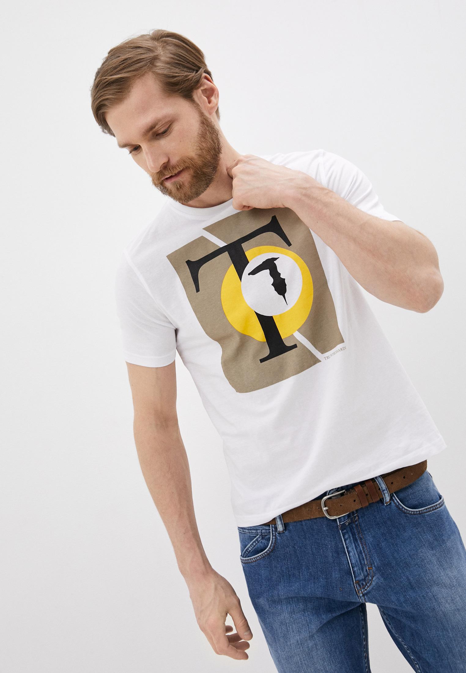 Мужская футболка Tru Trussardi (Тру Труссарди) 32T001551T004448