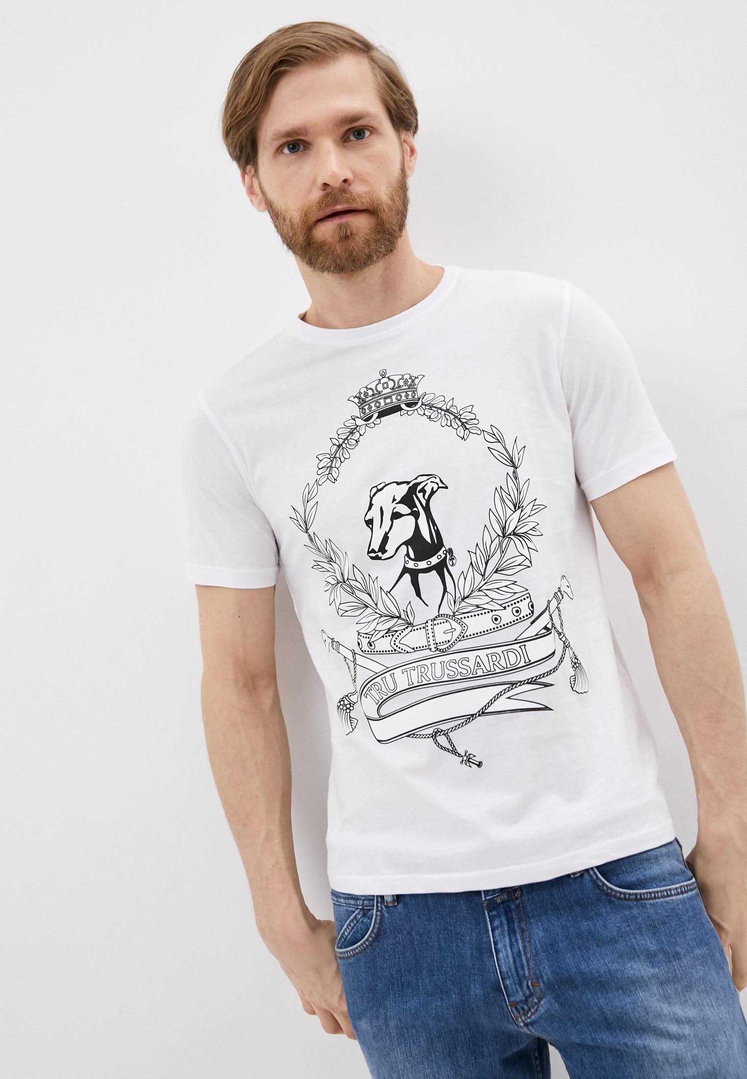 Мужская футболка Tru Trussardi (Тру Труссарди) 32T001641T004448