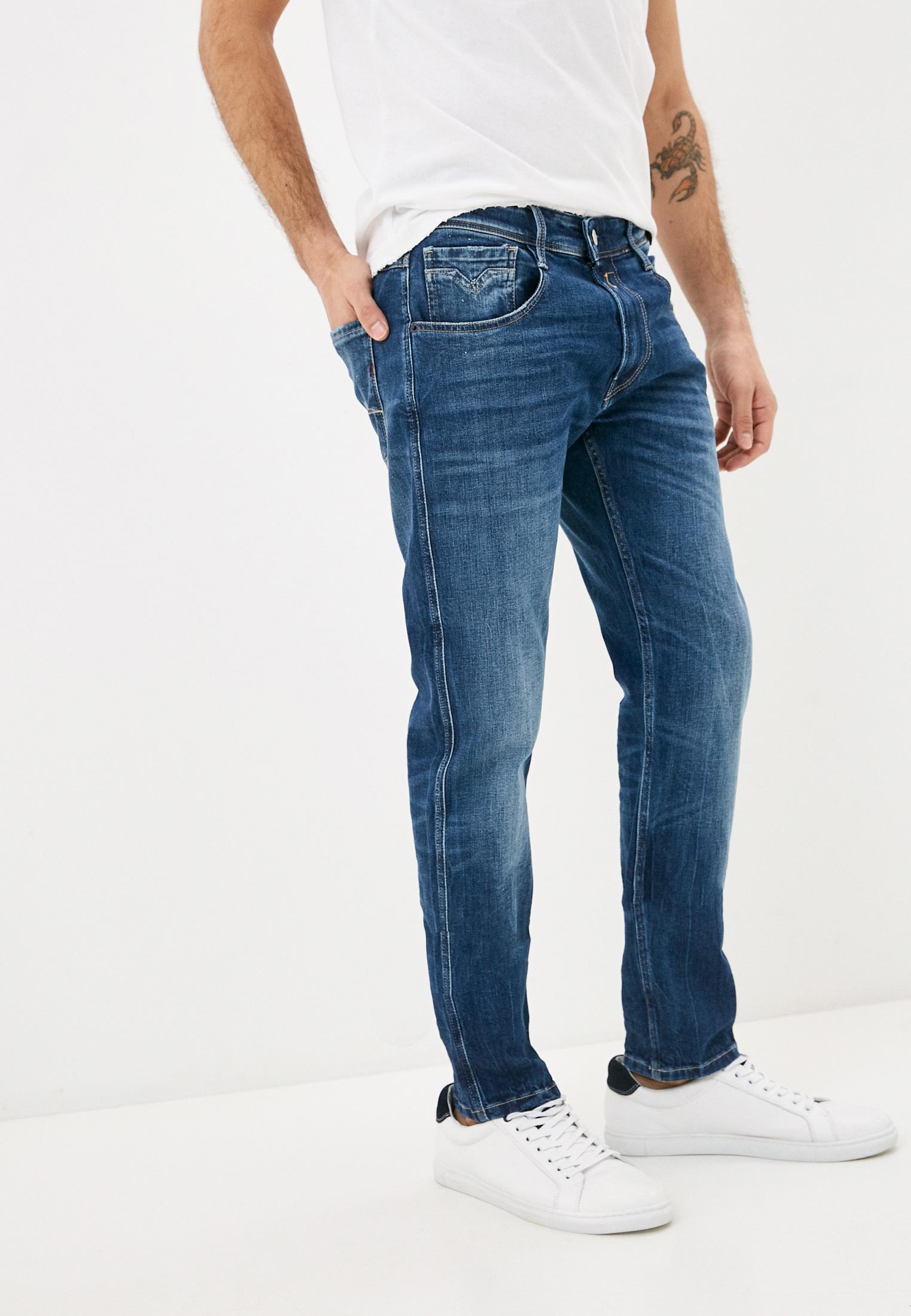 Мужские прямые джинсы Replay (Реплей) M914Y.000.573810