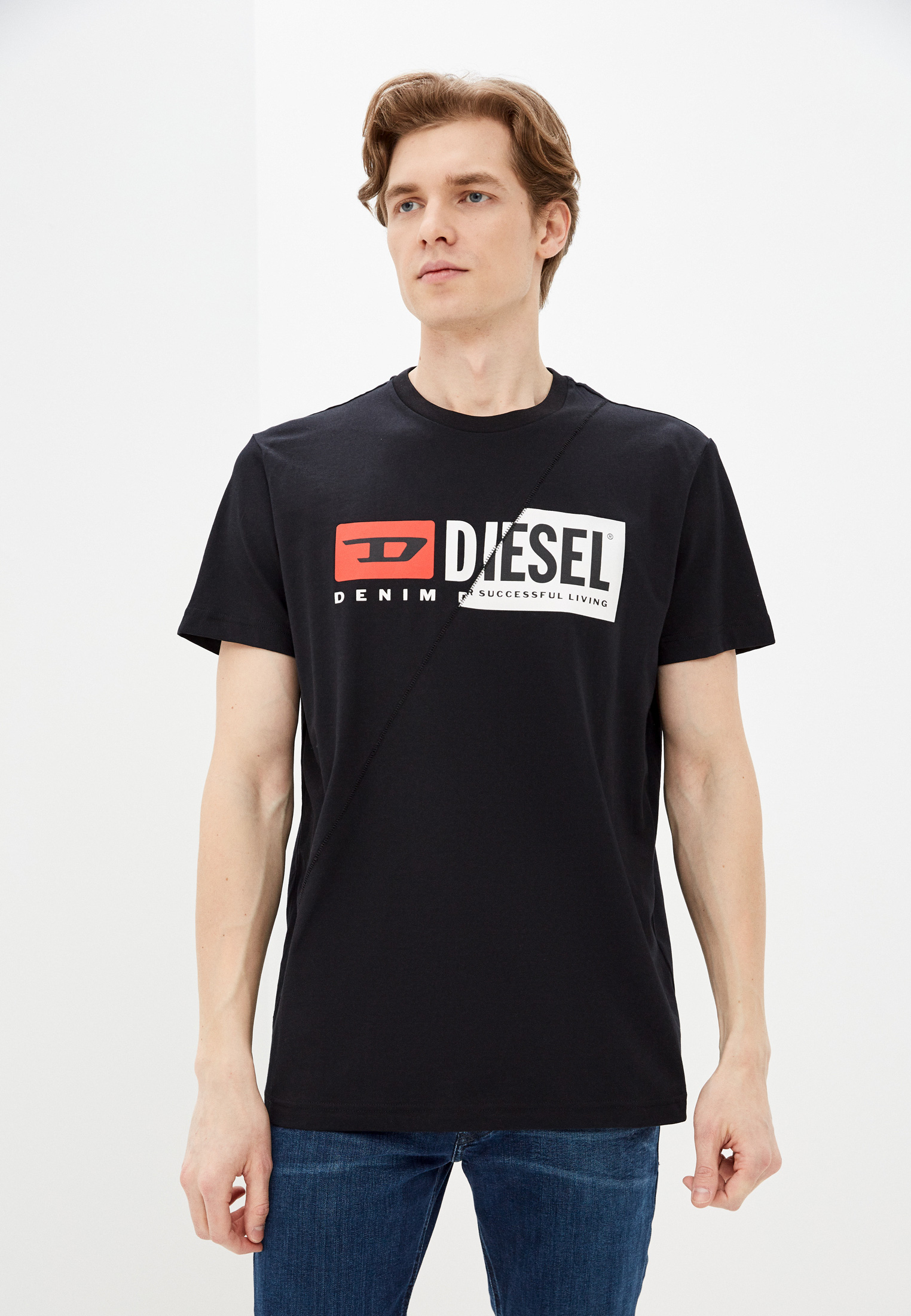 Футболка с коротким рукавом Diesel (Дизель) 00SDP10091A