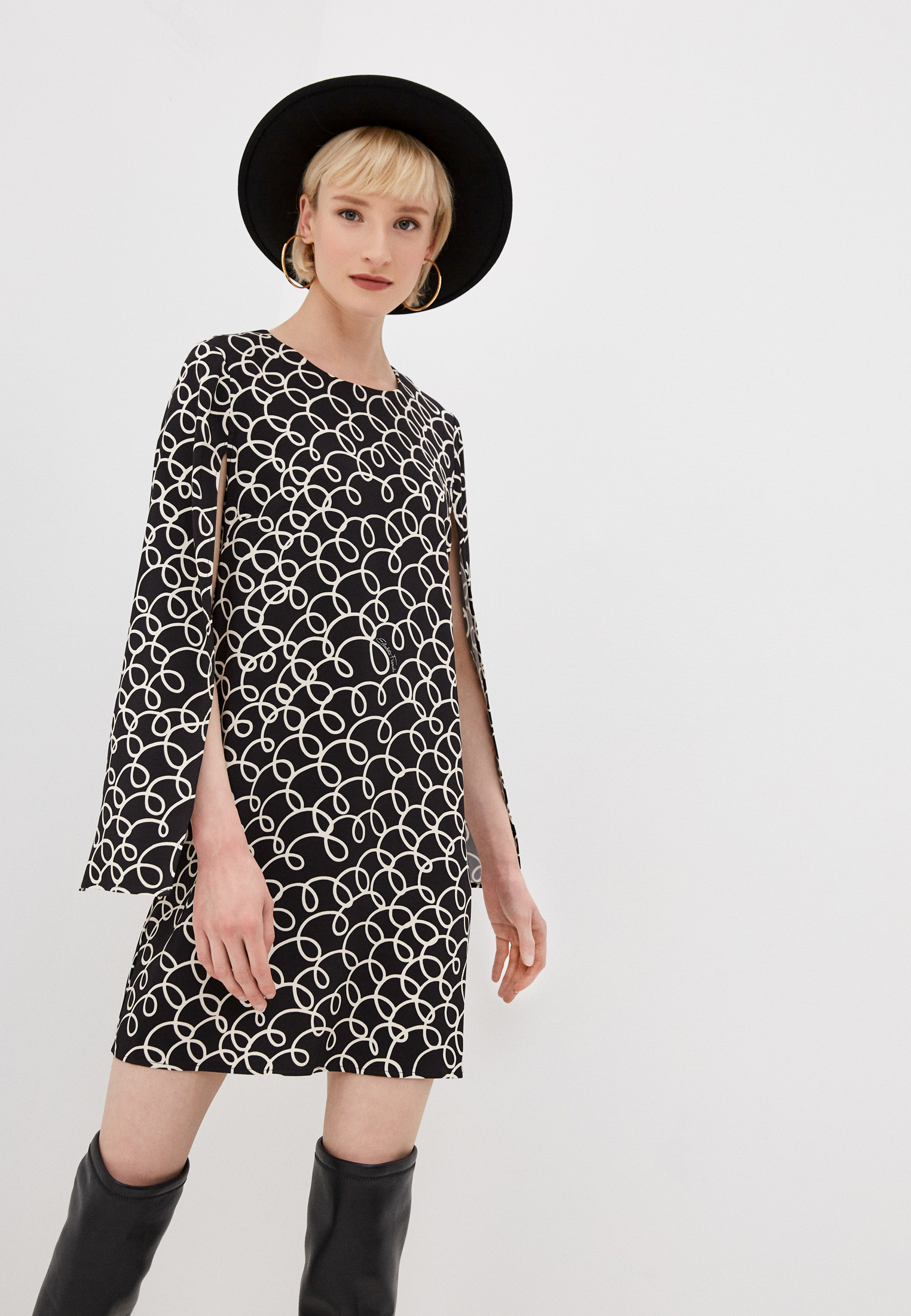 Повседневное платье Elisabetta Franchi (Элизабетта Франч) AB04211E2