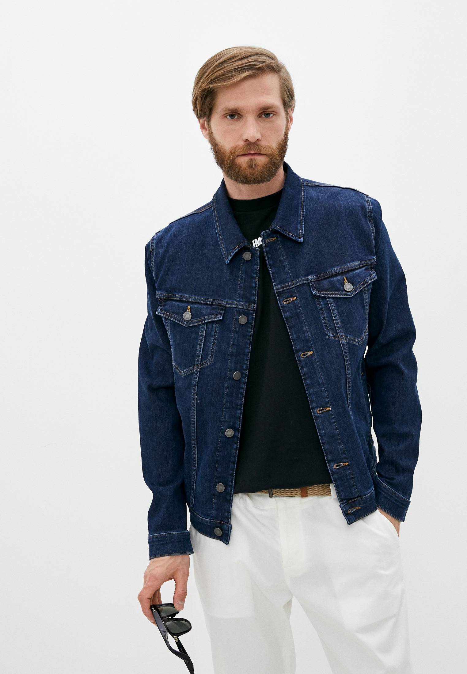 Джинсовая куртка 7 For All Mankind (7 Фо Олл Мэнкайнд) Куртка джинсовая 7 For All Mankind