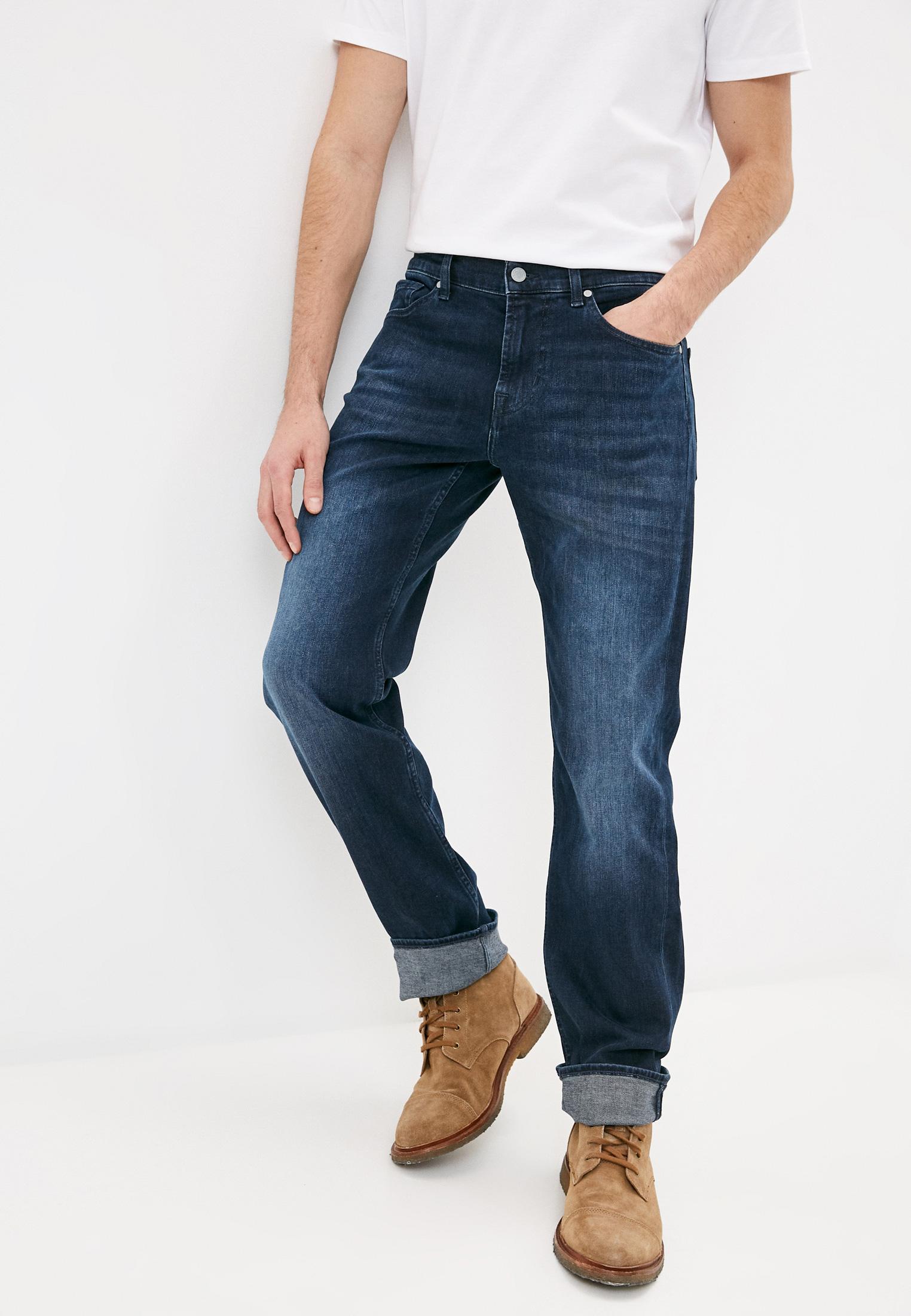 Мужские прямые джинсы 7 For All Mankind (7 Фо Олл Мэнкайнд) JSMNR460AI: изображение 1