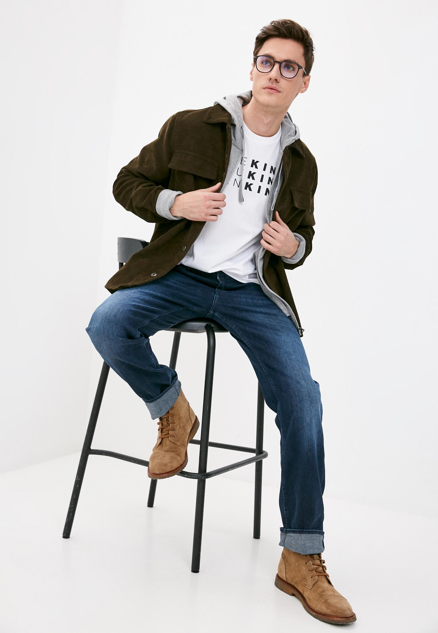 Мужские прямые джинсы 7 For All Mankind (7 Фо Олл Мэнкайнд) JSMNR460AI: изображение 3