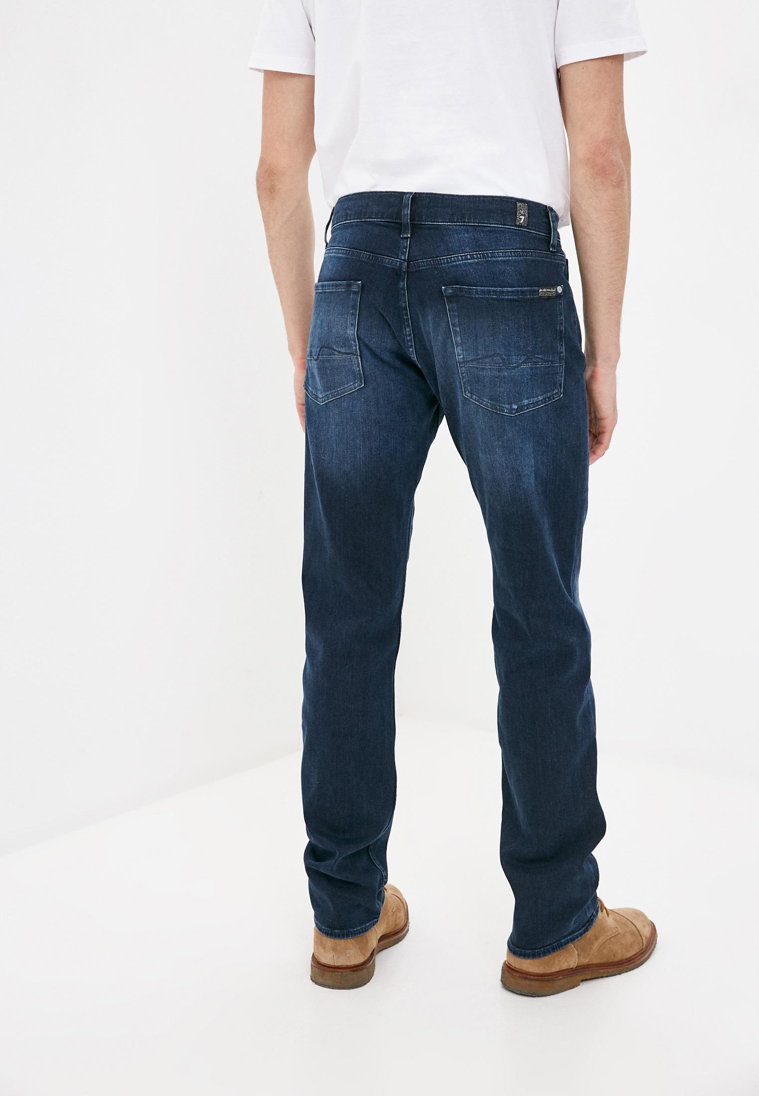 Мужские прямые джинсы 7 For All Mankind (7 Фо Олл Мэнкайнд) JSMNR460AI: изображение 4