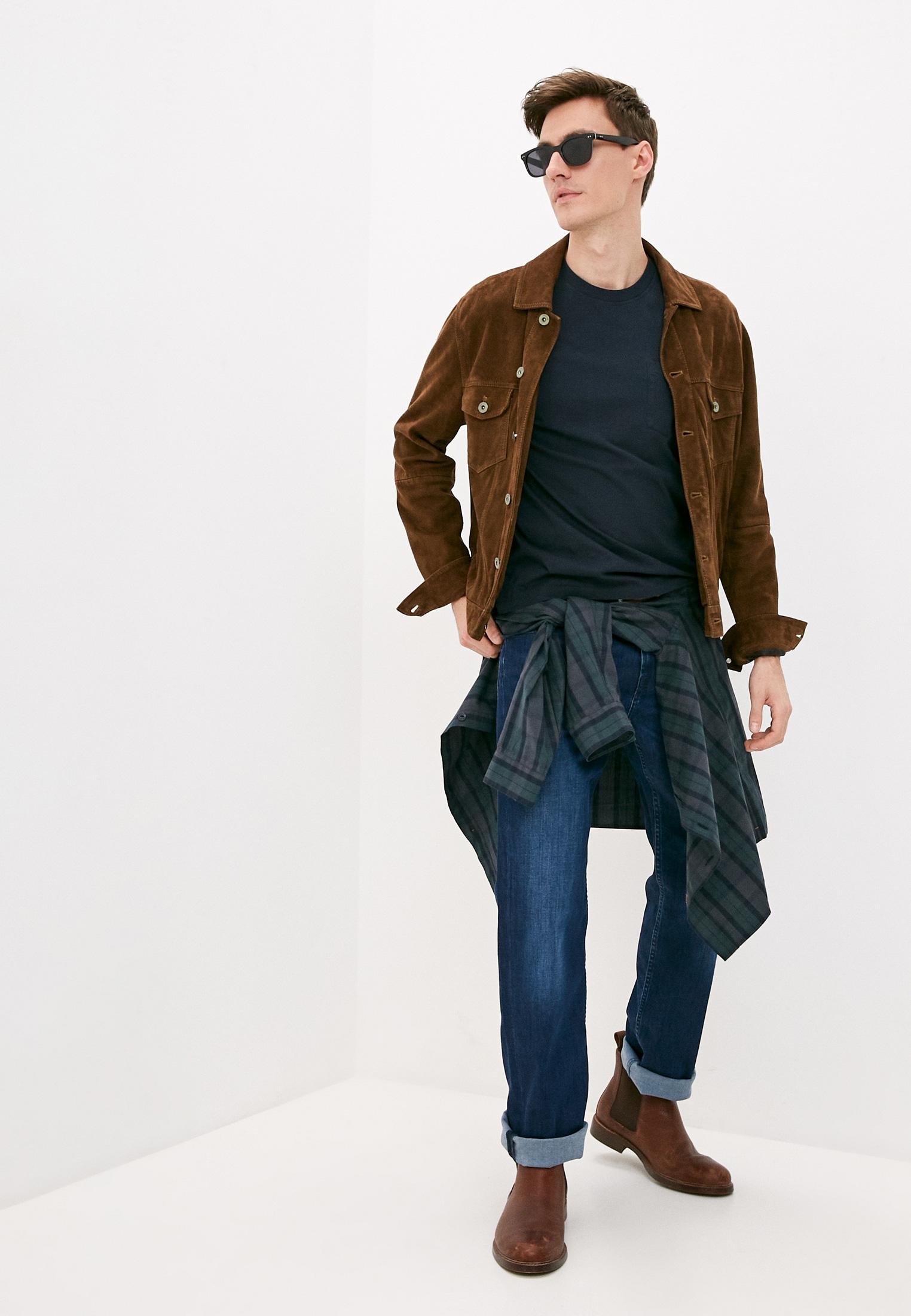 Мужские прямые джинсы 7 For All Mankind (7 Фо Олл Мэнкайнд) JSMNR750PC: изображение 3