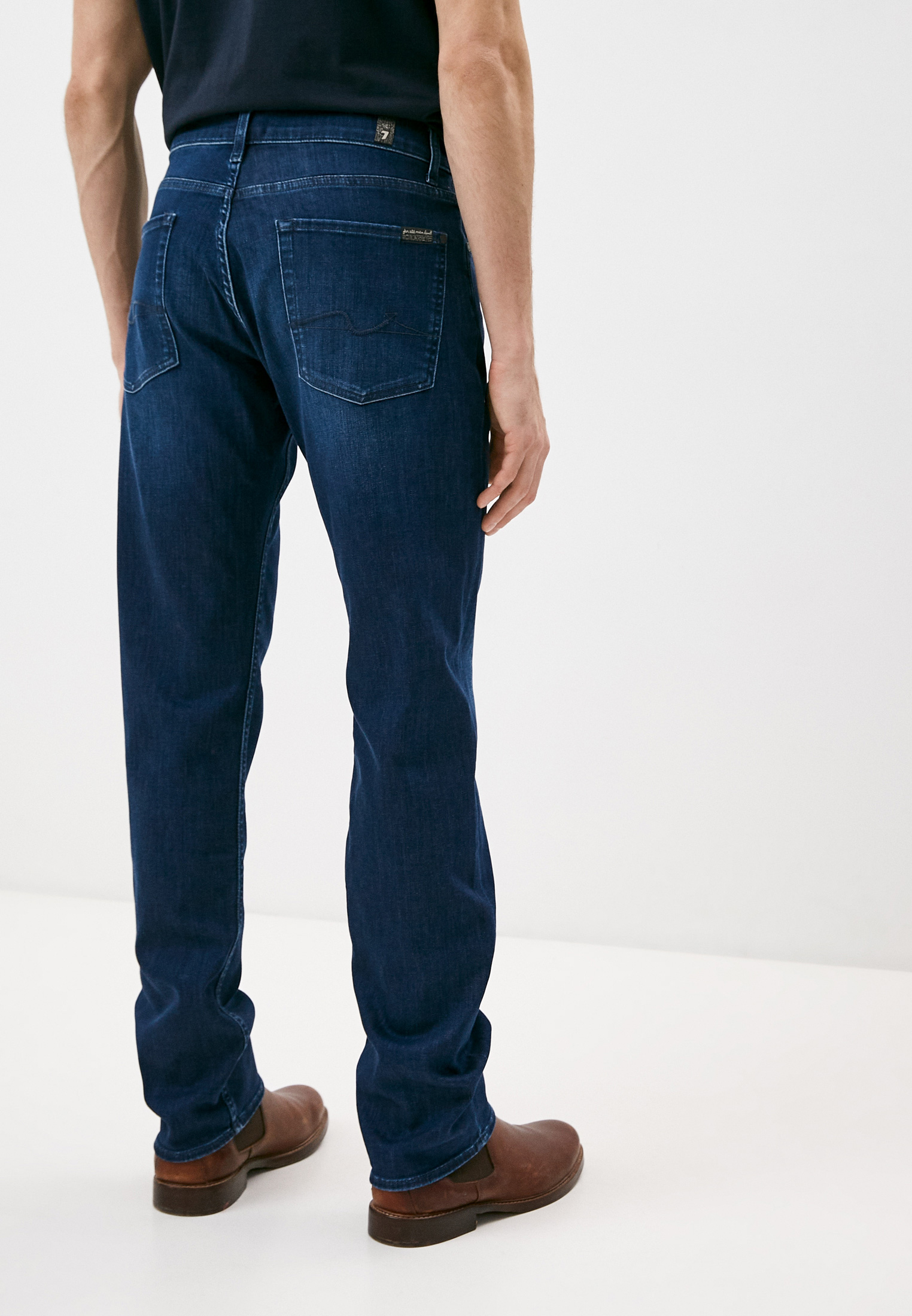 Мужские прямые джинсы 7 For All Mankind (7 Фо Олл Мэнкайнд) JSMNR750PC: изображение 4