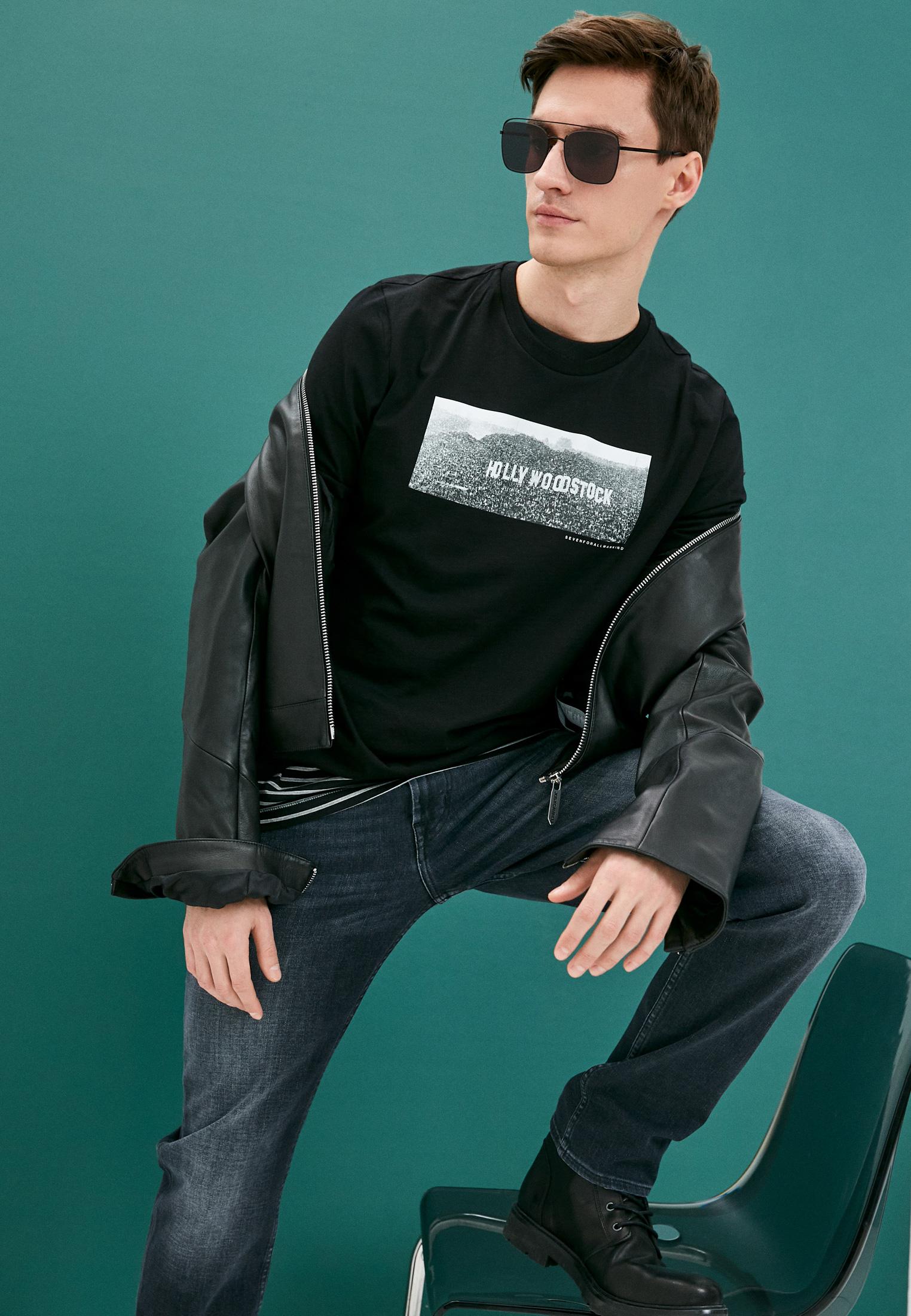 Мужские прямые джинсы 7 For All Mankind (7 Фо Олл Мэнкайнд) JSMSB460LE: изображение 2