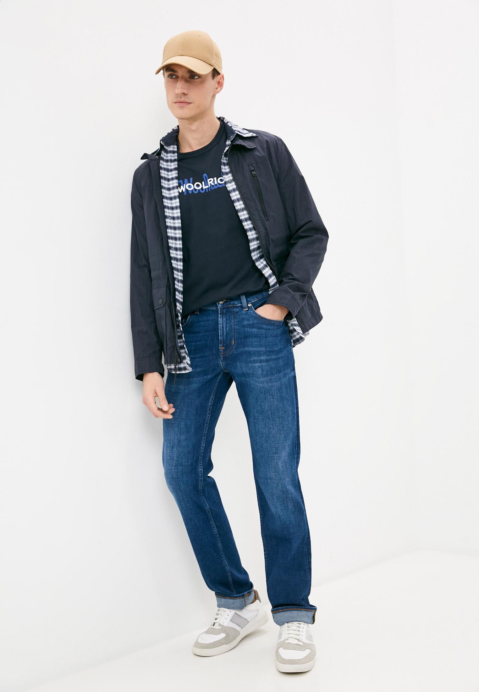 Мужские прямые джинсы 7 For All Mankind (7 Фо Олл Мэнкайнд) JSMSB480HY: изображение 3