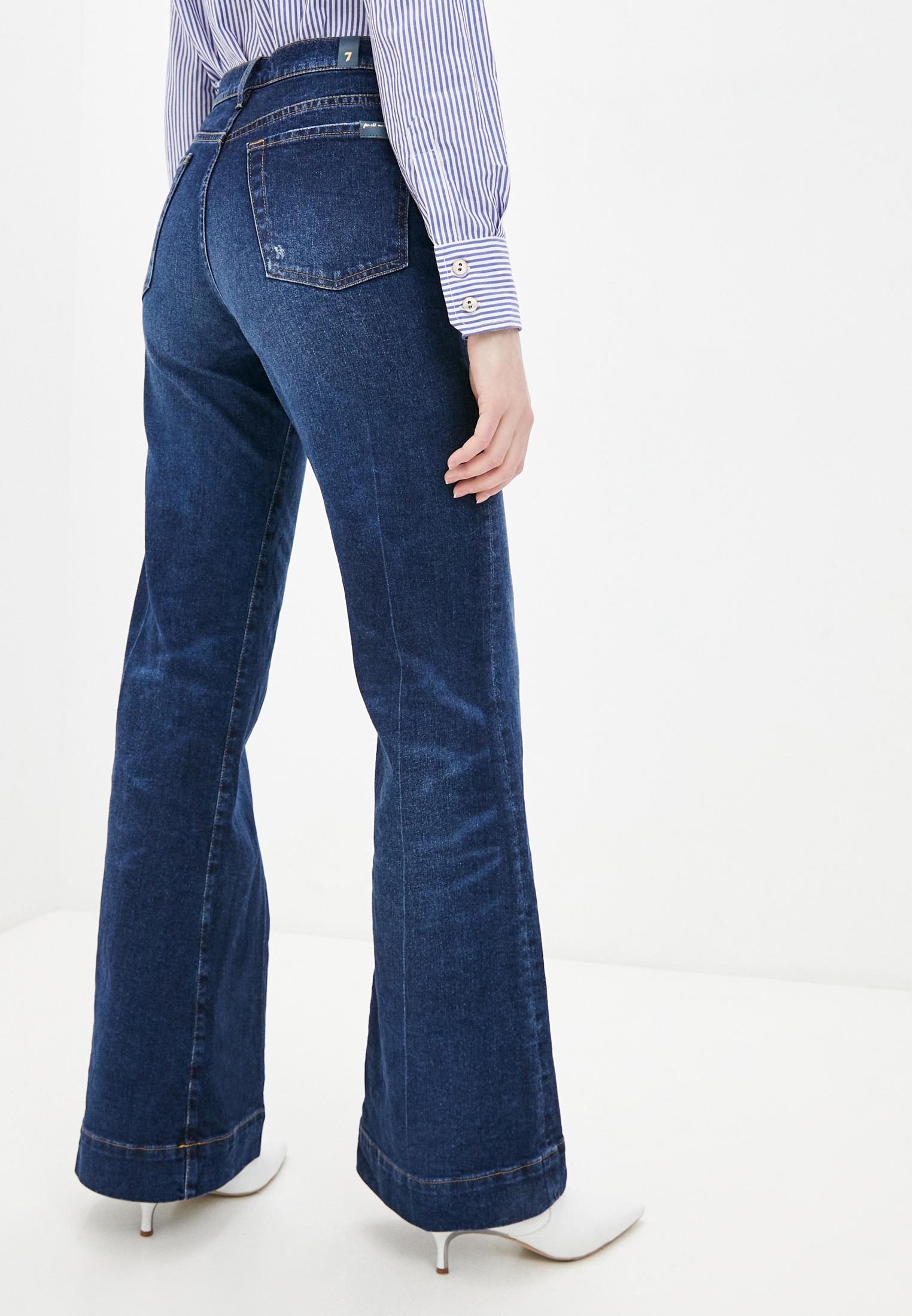 Широкие и расклешенные джинсы 7 For All Mankind (7 Фо Олл Мэнкайнд) JSWDB610AM: изображение 4