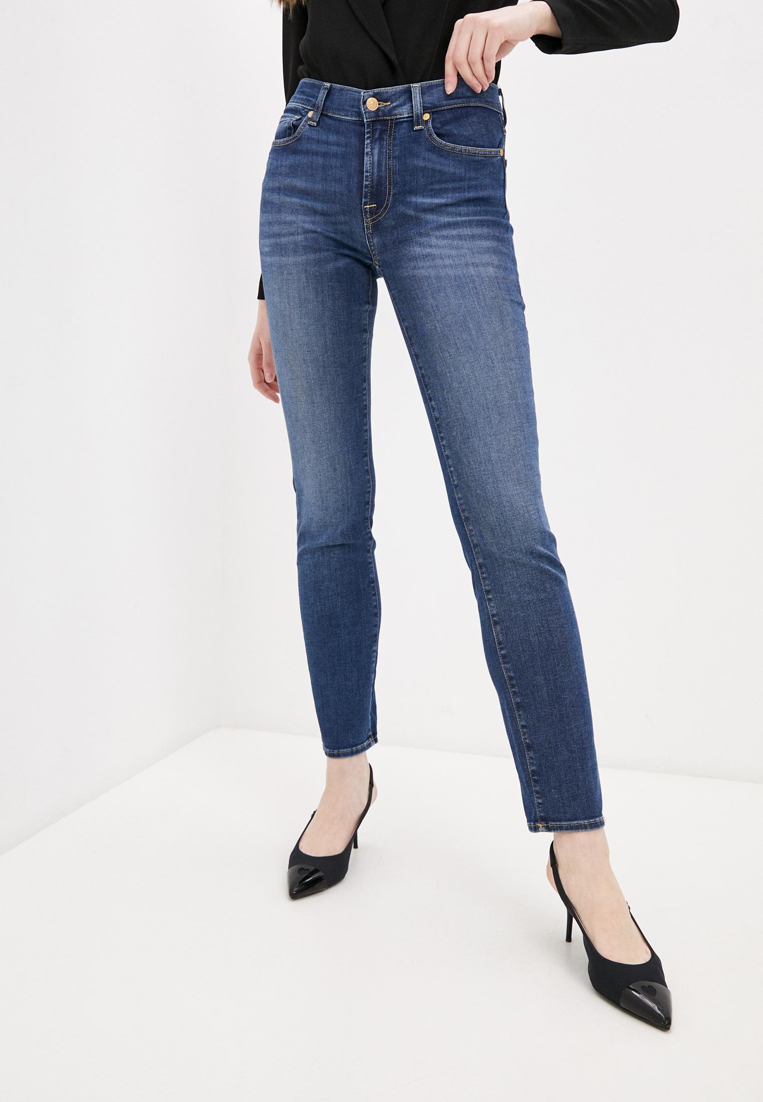 Зауженные джинсы 7 For All Mankind (7 Фо Олл Мэнкайнд) Джинсы 7 For All Mankind