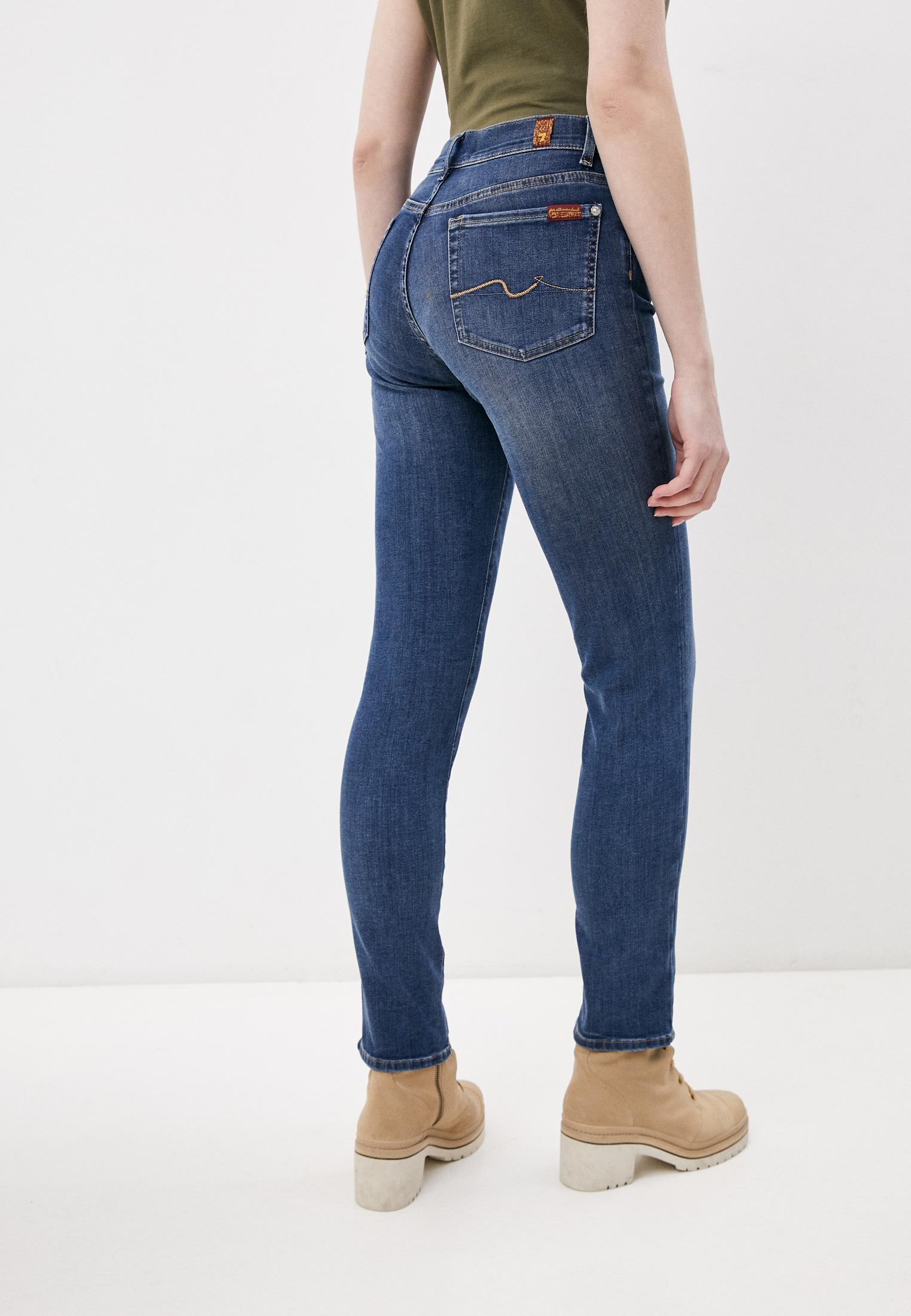 Зауженные джинсы 7 For All Mankind (7 Фо Олл Мэнкайнд) JSWX8870EA: изображение 4