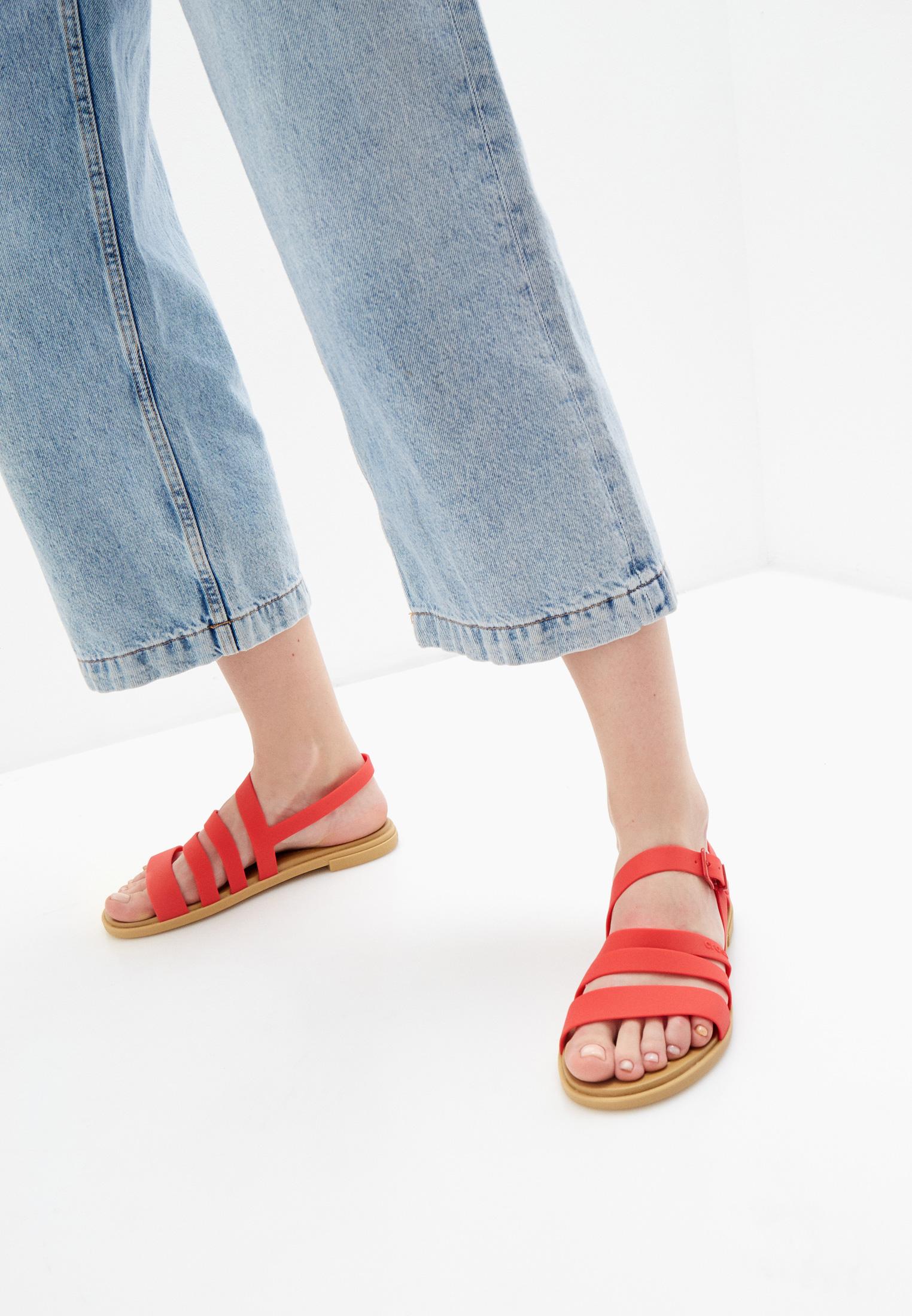 Женские сандалии Crocs (Крокс) 206107: изображение 6
