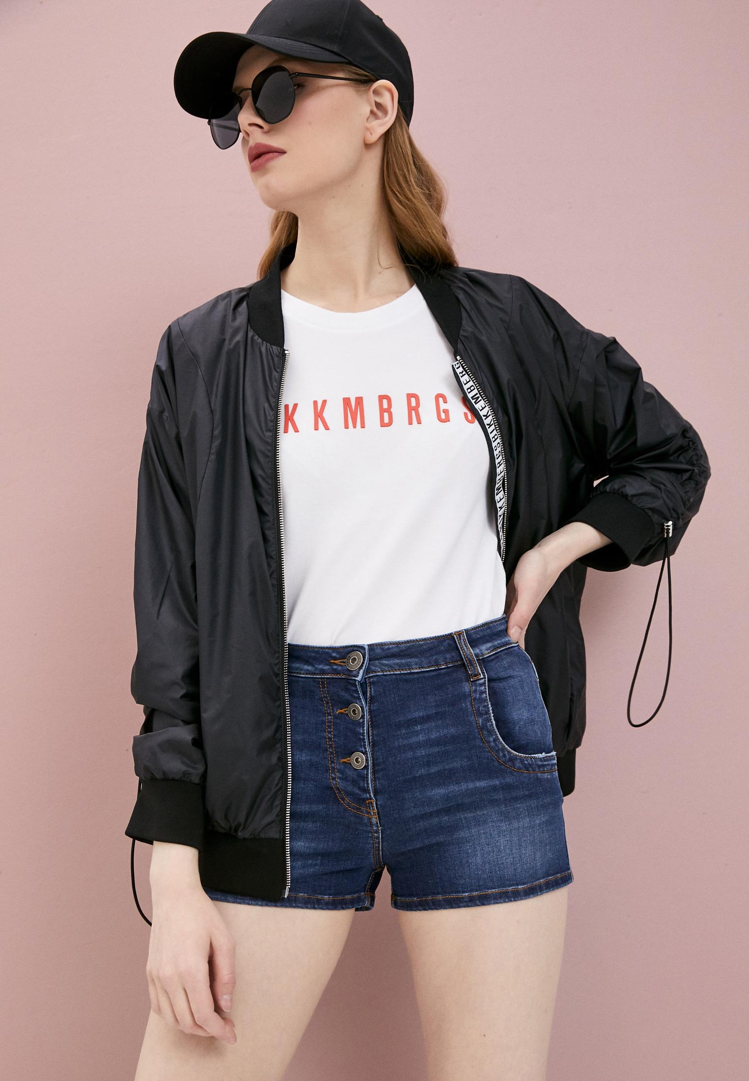 Женские джинсовые шорты Bikkembergs D O 005 01 S 3535: изображение 2