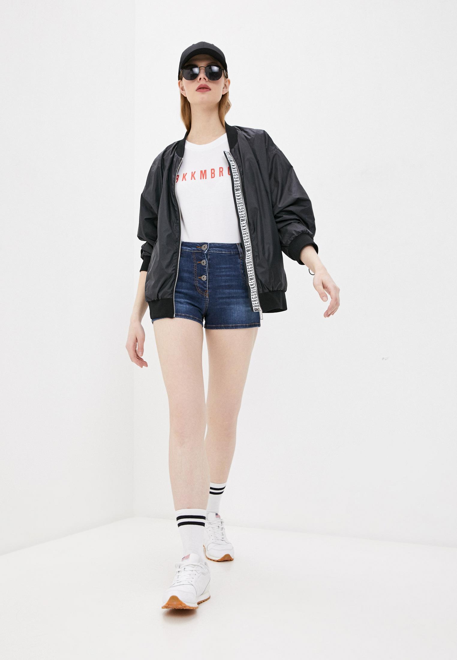 Женские джинсовые шорты Bikkembergs D O 005 01 S 3535: изображение 3