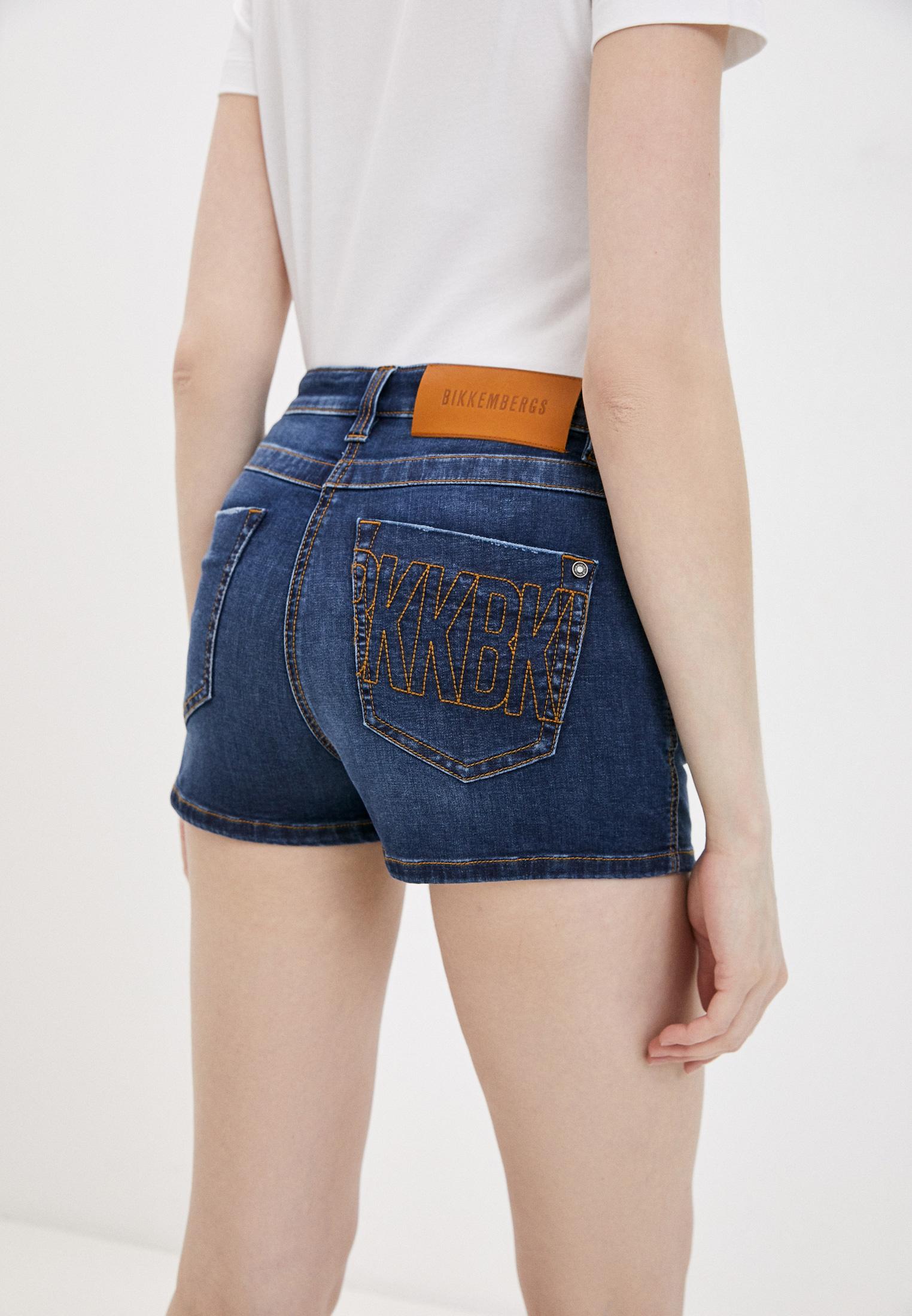 Женские джинсовые шорты Bikkembergs D O 005 01 S 3535: изображение 4