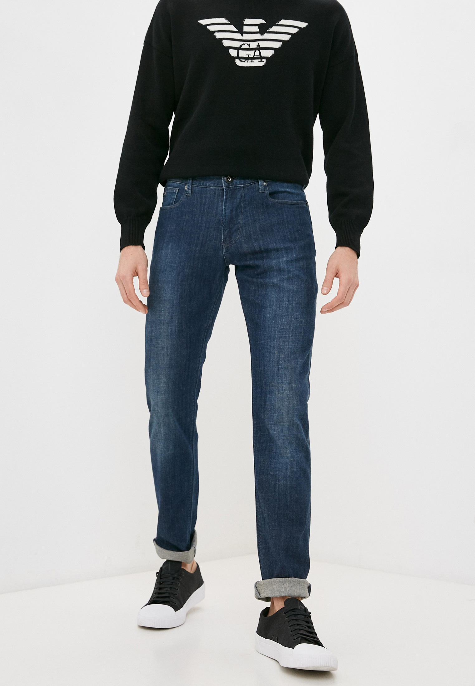 Мужские прямые джинсы Emporio Armani 3K1J061DJCZ