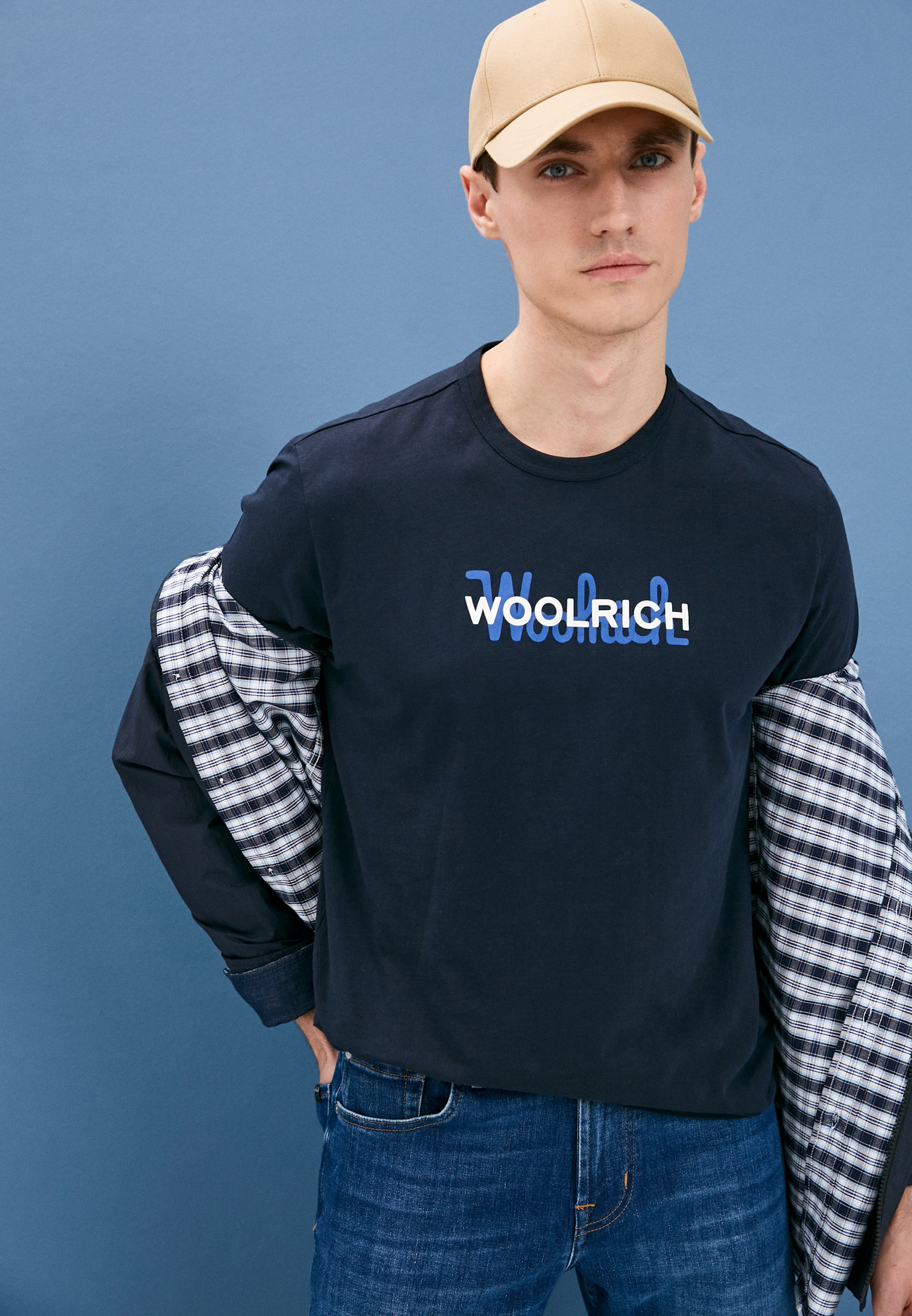 Футболка Woolrich (Вулрич) CFWOTE0048MRUT1486: изображение 2