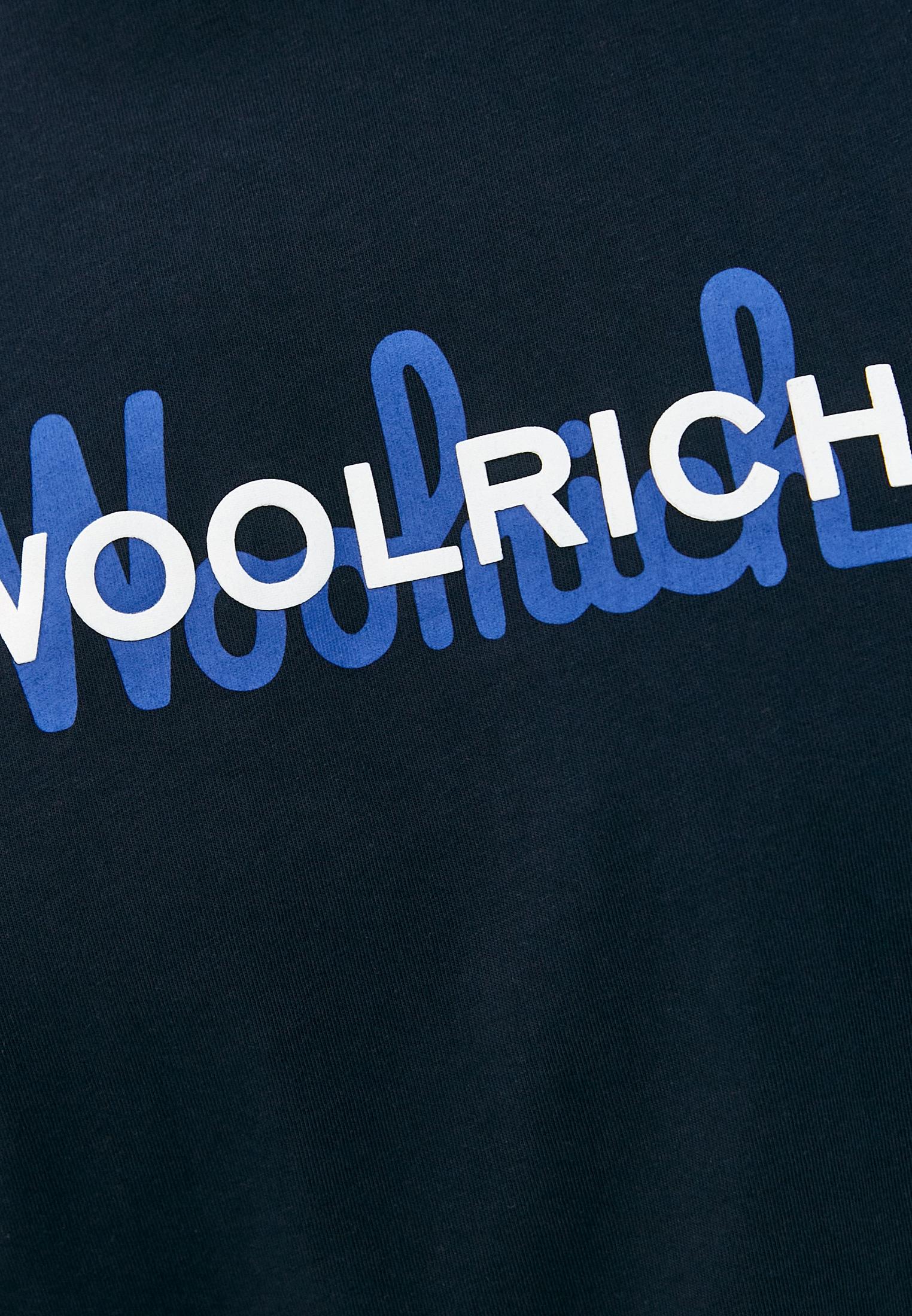 Футболка Woolrich (Вулрич) CFWOTE0048MRUT1486: изображение 5