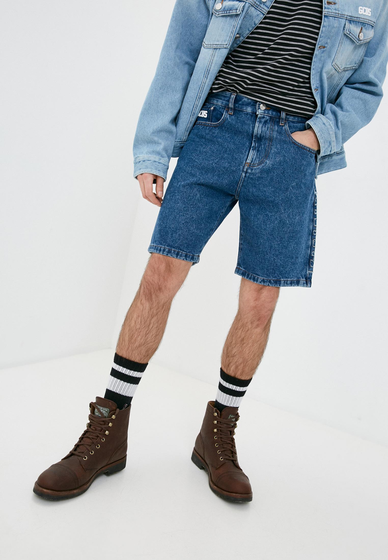 Мужские джинсовые шорты GCDS Шорты джинсовые GCDS
