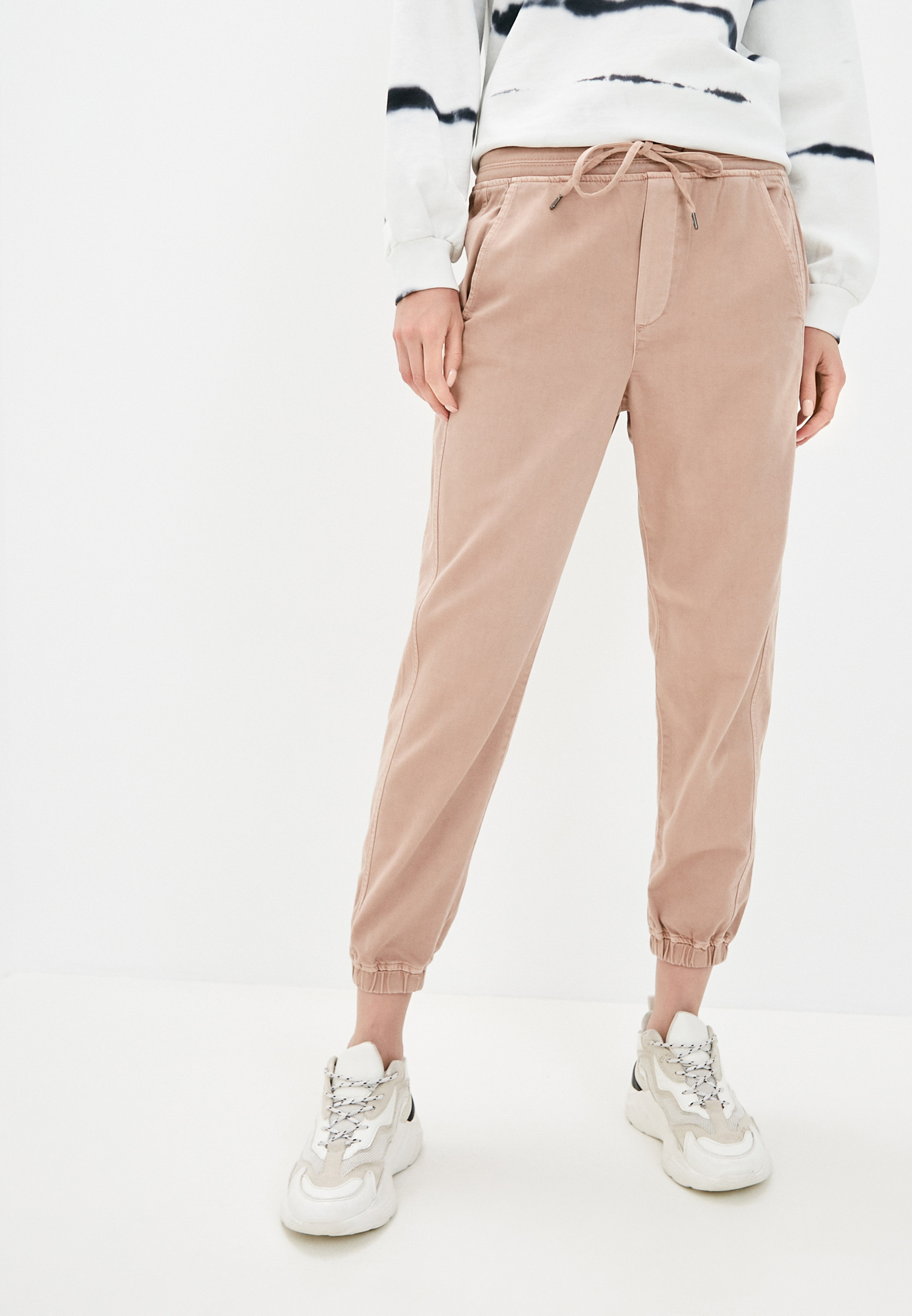 Женские зауженные брюки Gap 679045: изображение 1