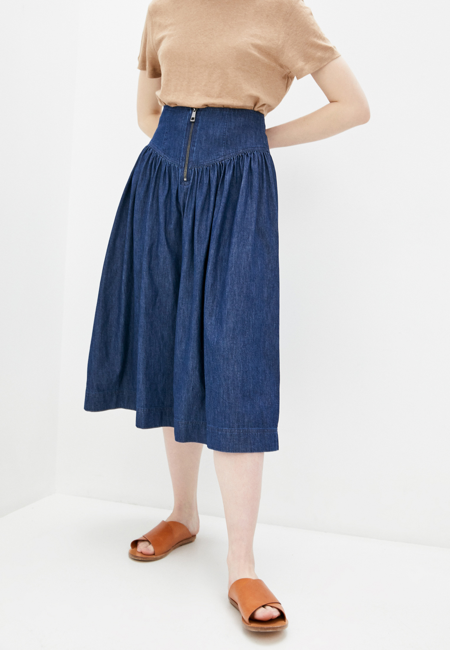 Джинсовая юбка Whistles 32817
