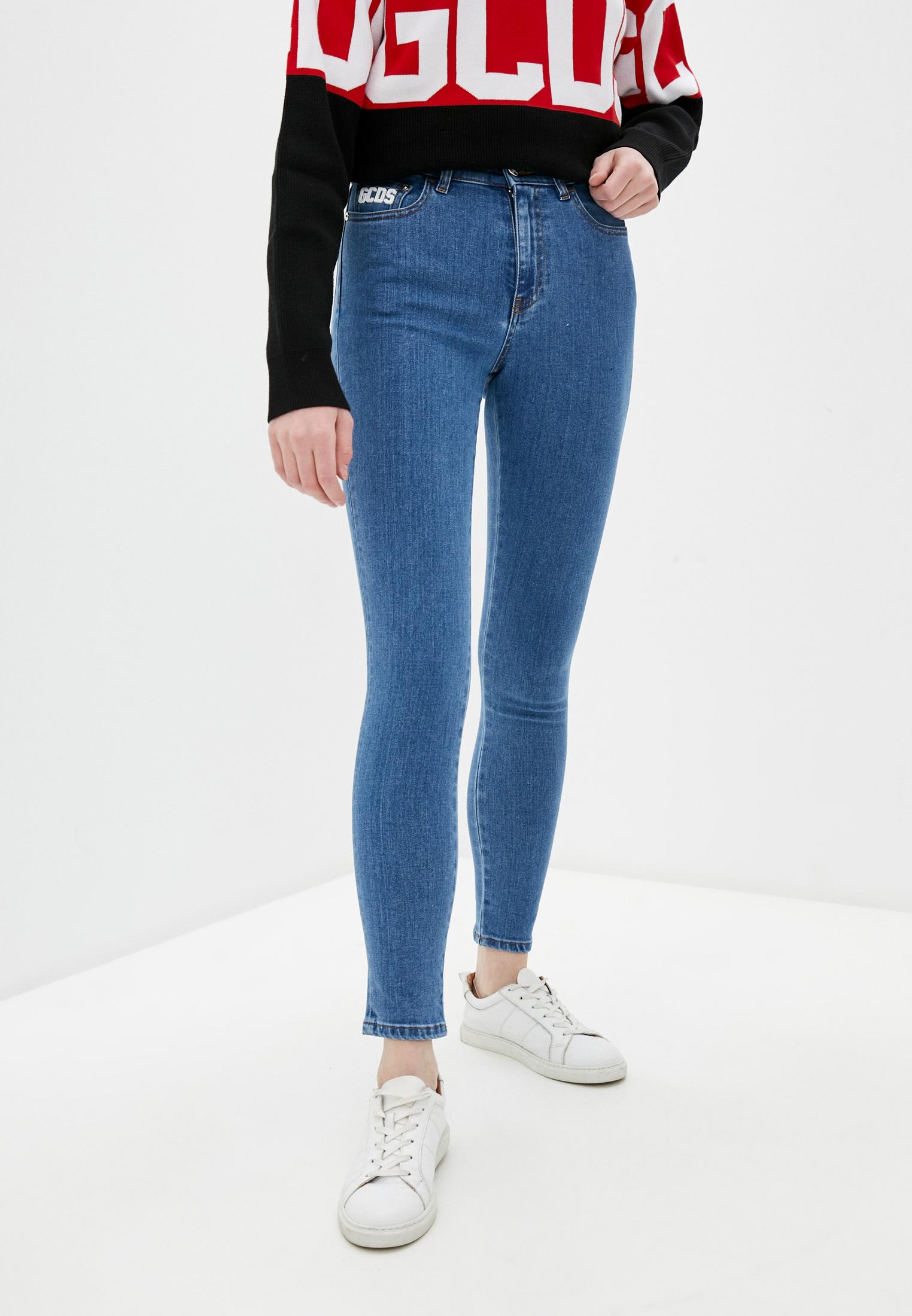 Зауженные джинсы GCDS Джинсы GCDS