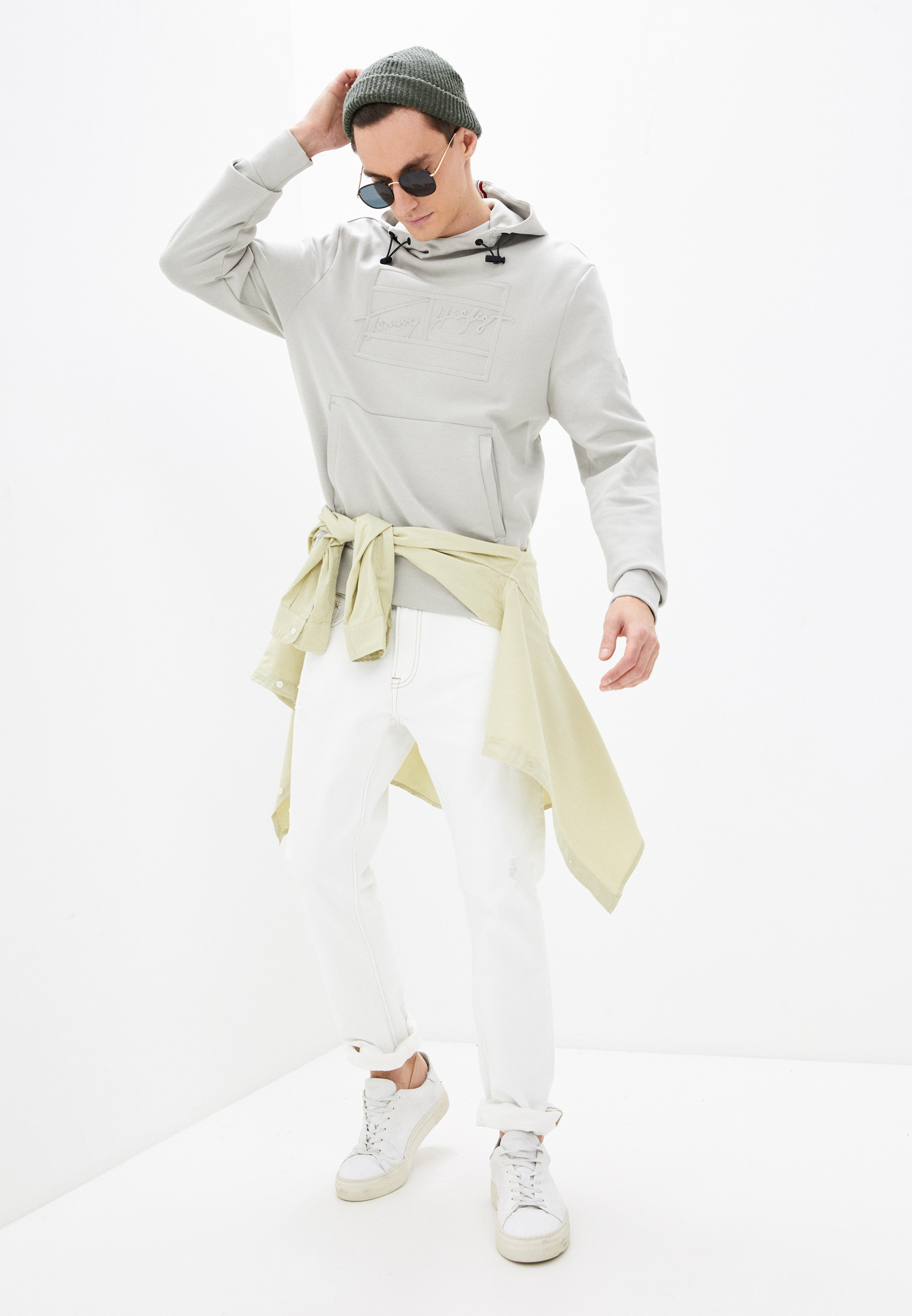 Мужские худи Tommy Hilfiger (Томми Хилфигер) MW0MW17893: изображение 2